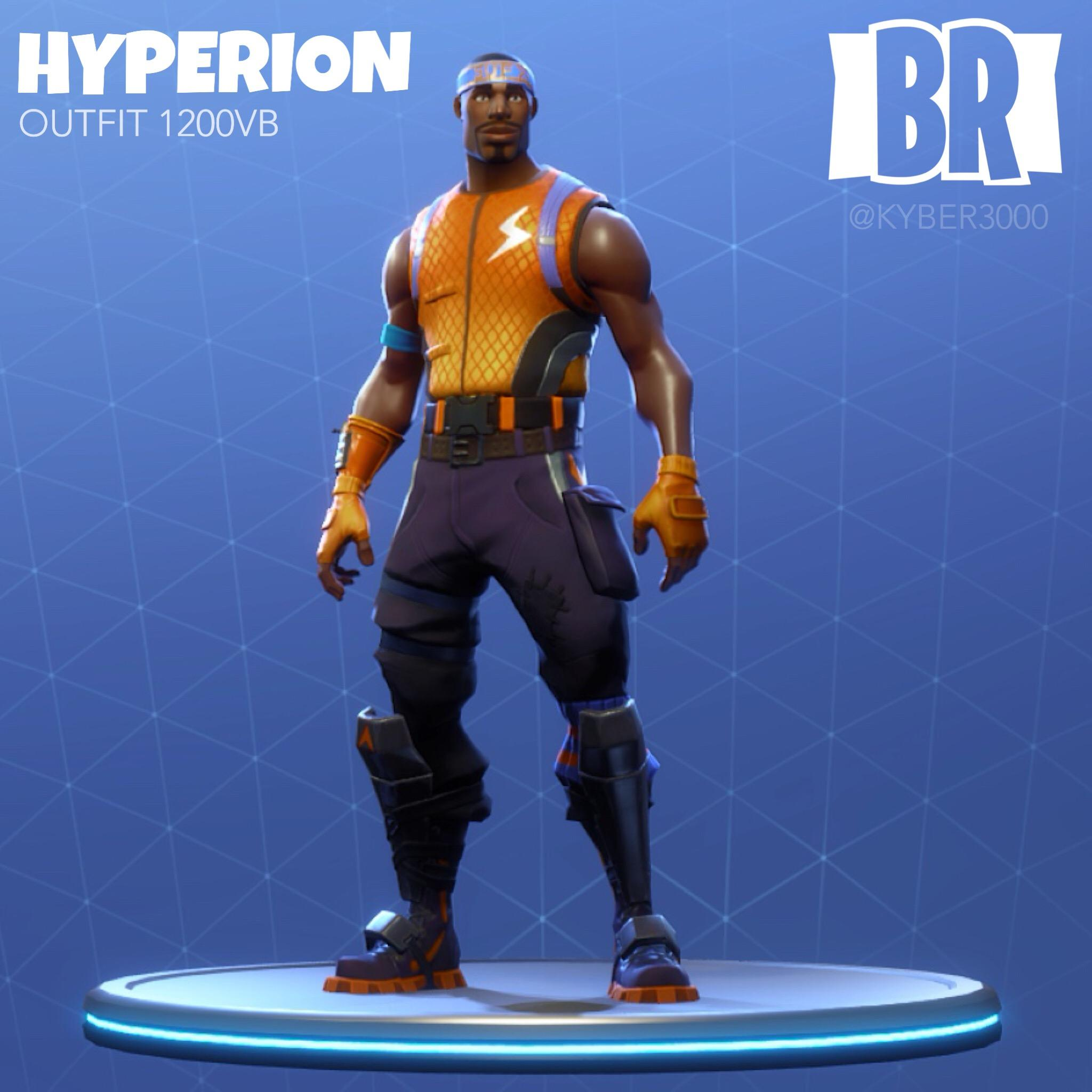 Hyperion Fortnite wallpapers
