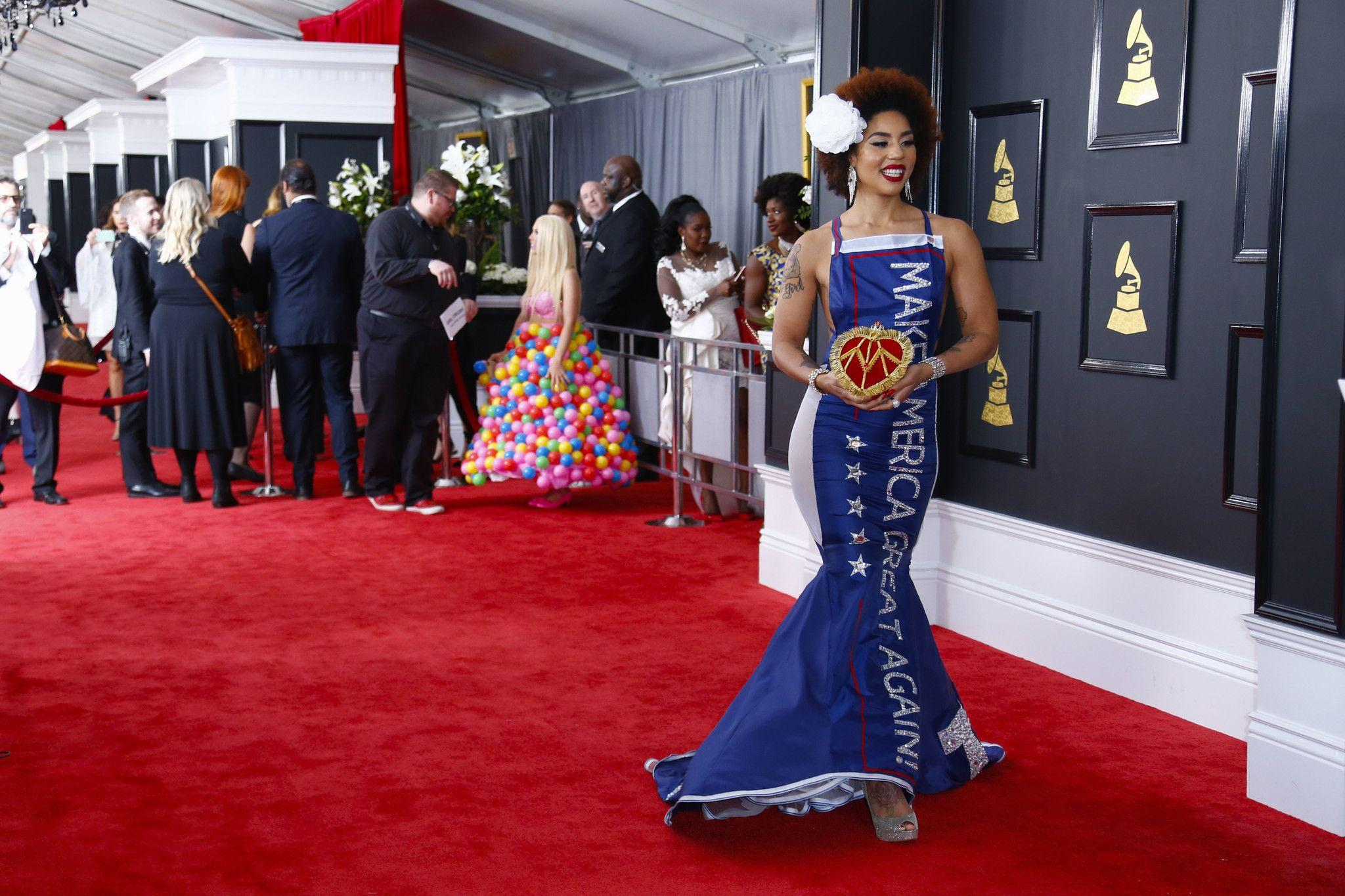 See the best- and worst-dressed from the Grammys red carpet ...