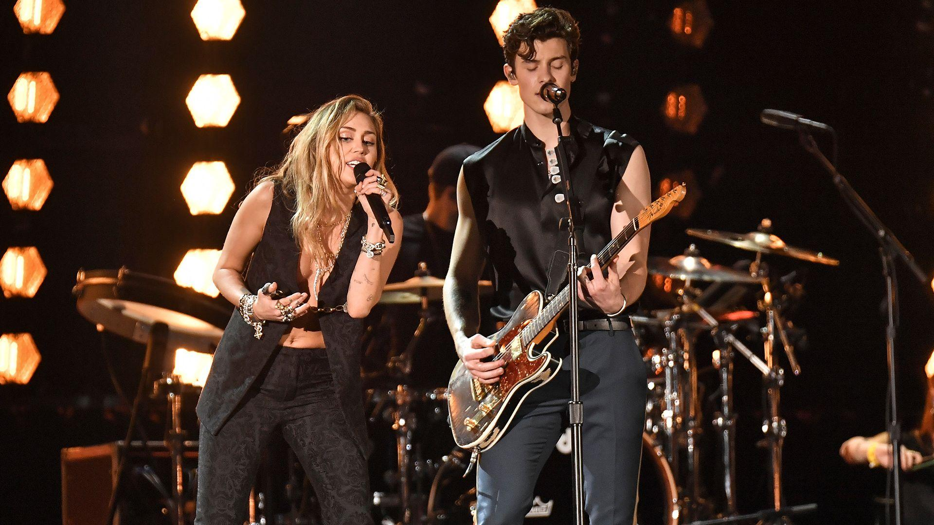 Miley Cyrus & Shawn Mendes Grammys 2019 Performance Video | StyleCaster
