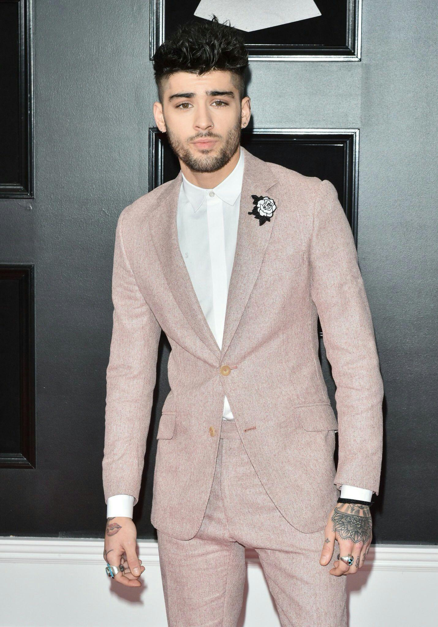 Zayn at the Grammy Awards tonight! | Zayn Malik in 2019 | Zayn, Zayn ...