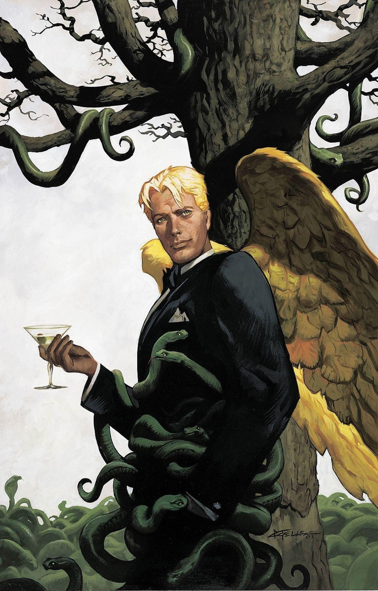 Lucifer Morningstar (New Earth) | DC Database | FANDOM powered by Wikia