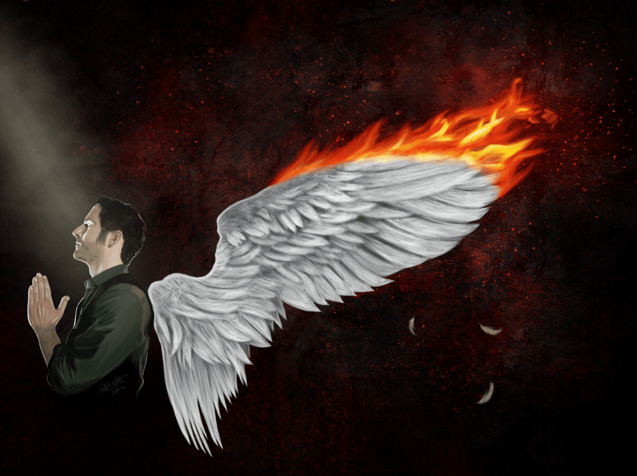 Lucifer Burning Series