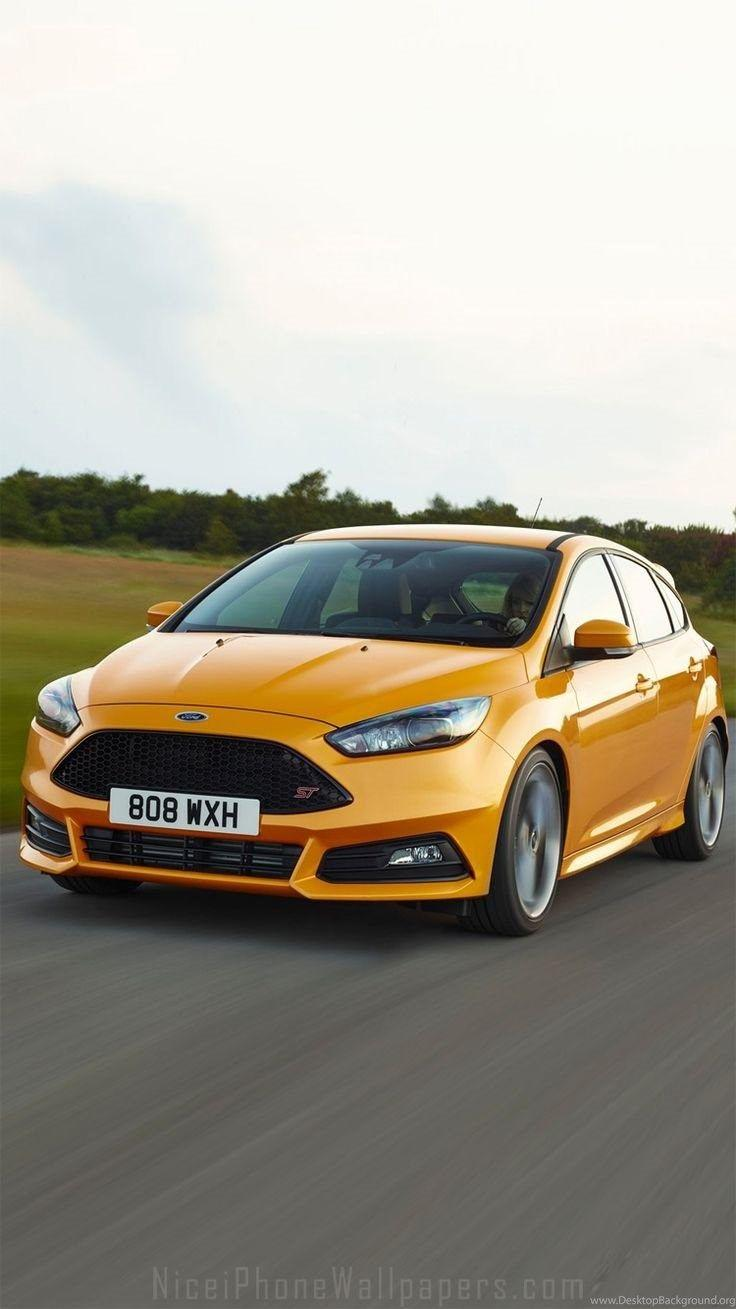 2015 Ford Focus ST iPhone 6/6 Plus Wallpapers Desktop Background