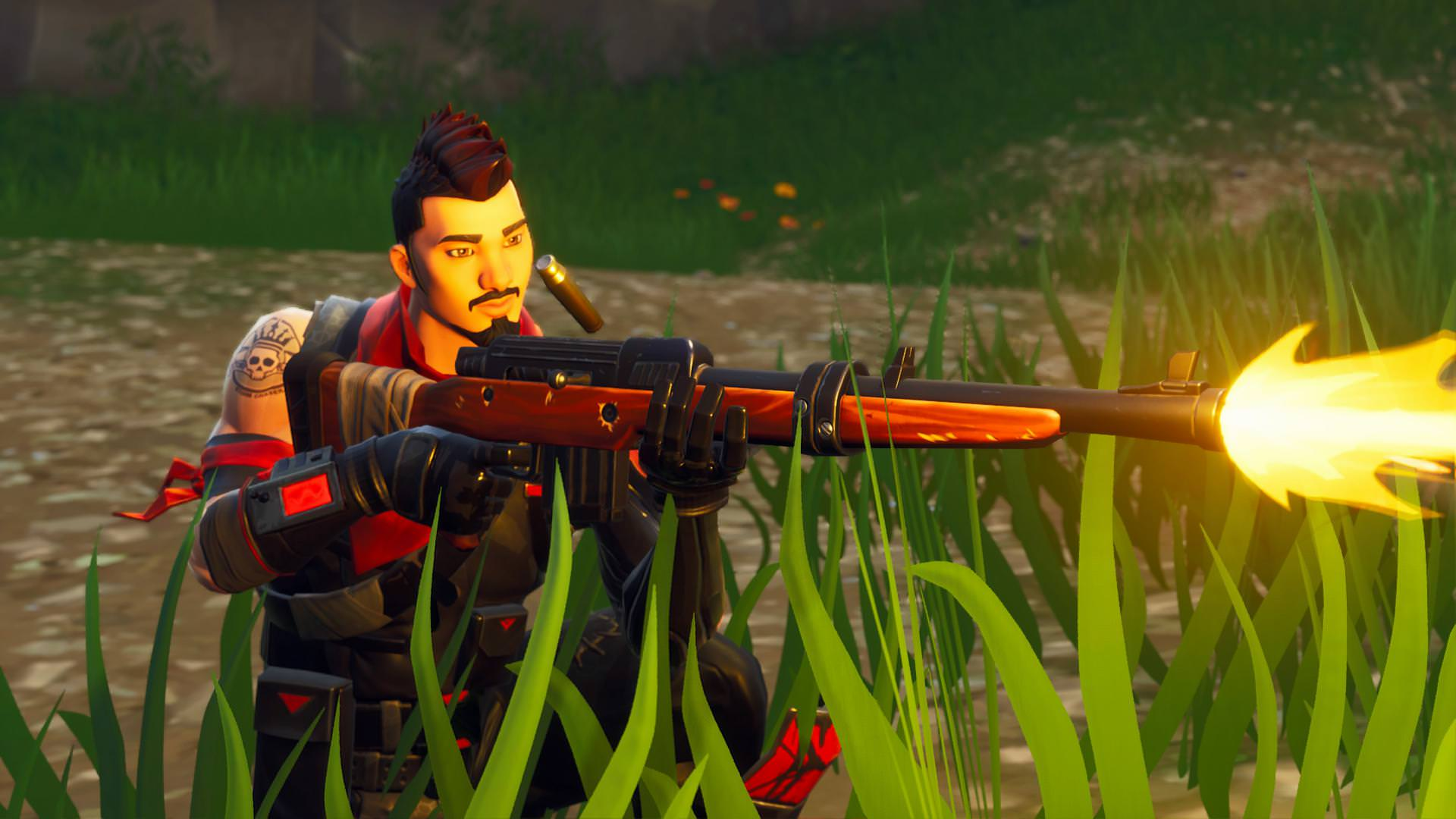 Captured a pretty cool Midnight Ops Hunting rifle screenshot in the