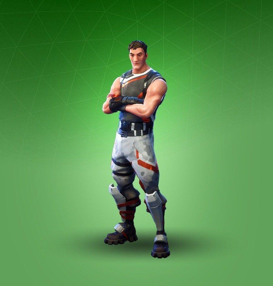 Common Fortnite Skin Wallpaper: Devastator Fortnite Skin