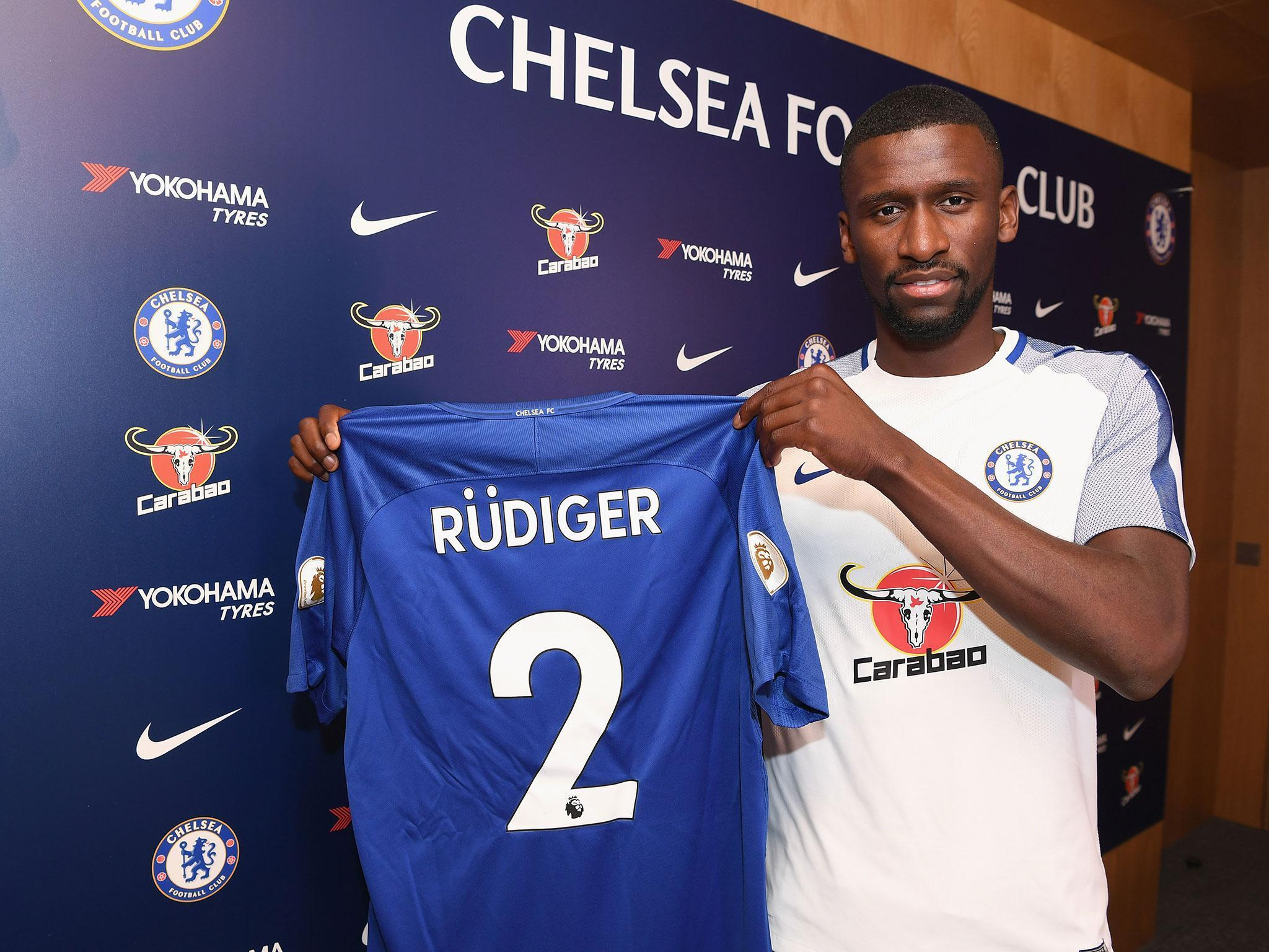Chelsea sign Roma defender Antonio Rudiger in £34million deal | The ...