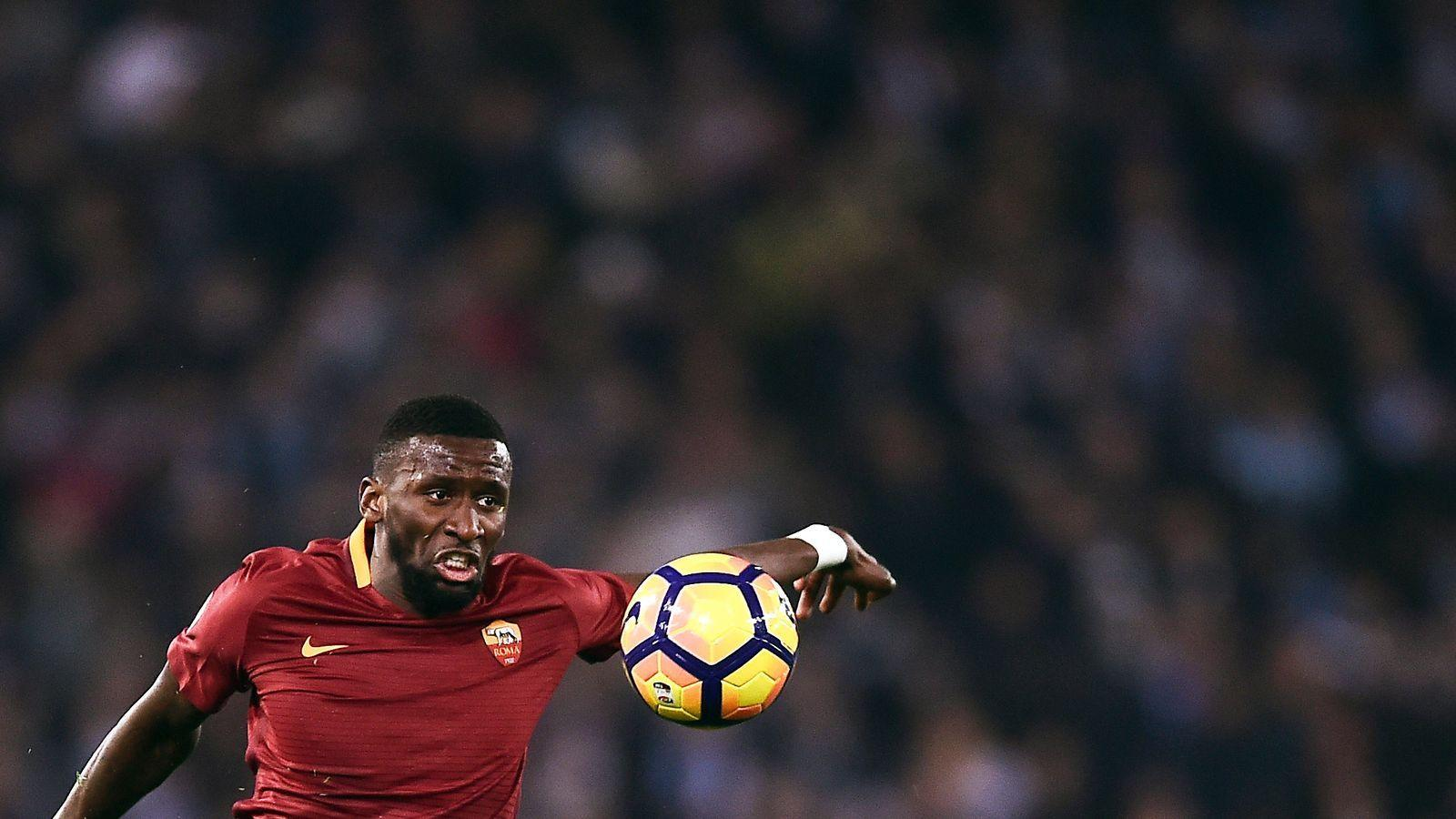 Antonio Rudiger has completed his £34m move to Chelsea from Roma