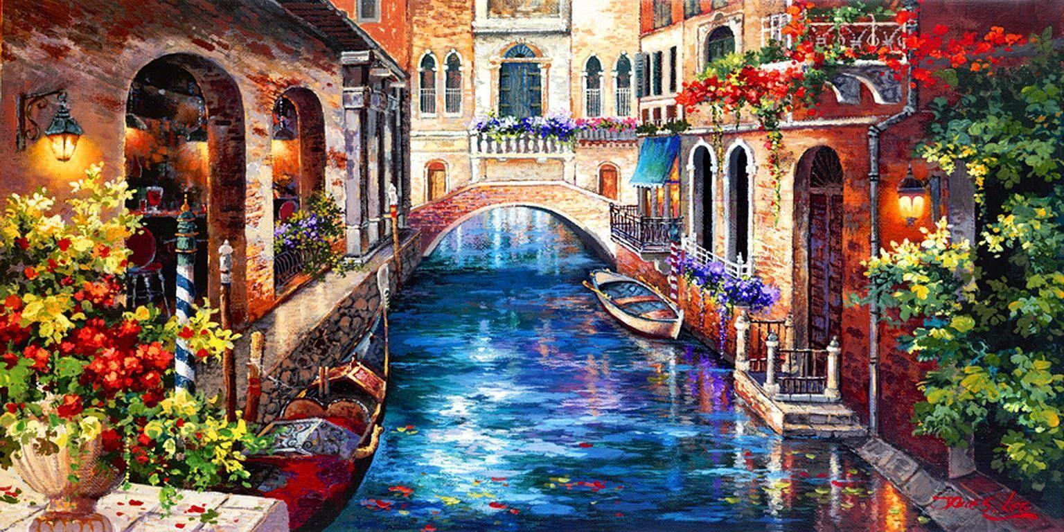venice italy canals wallpaper - Google Search | Places to Draw ...