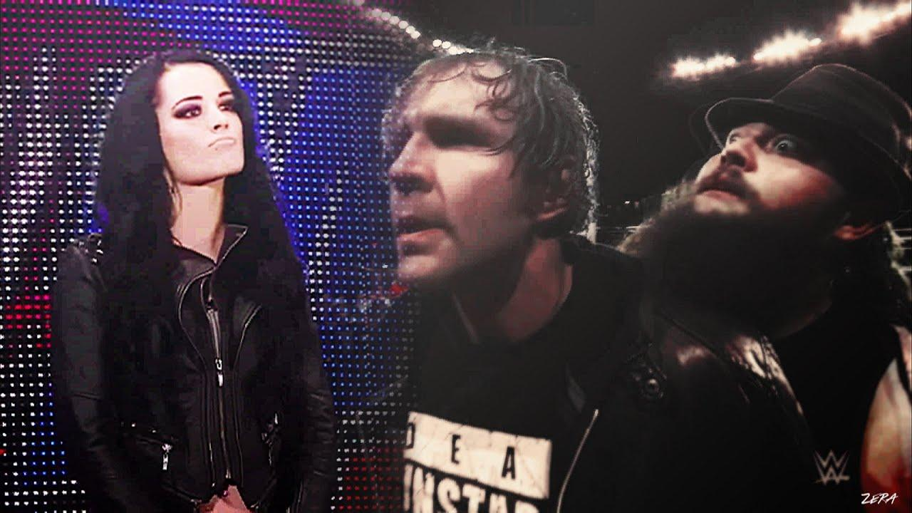 Dean Ambrose + Paige + Bray Wyatt - Diary Of Jane - YouTube