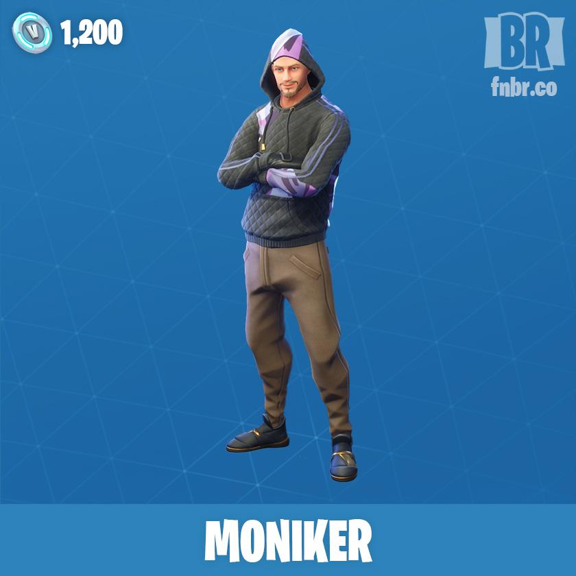 Moniker Fortnite wallpapers