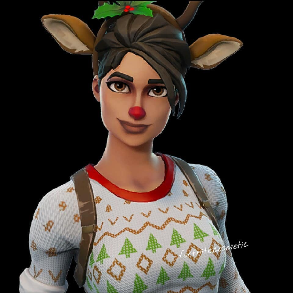 Fortnite Red Nosed Raider