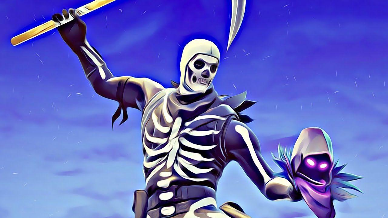 Download Skull Trooper 4K 8K HD Fortnite Battle Royale Wallpapers