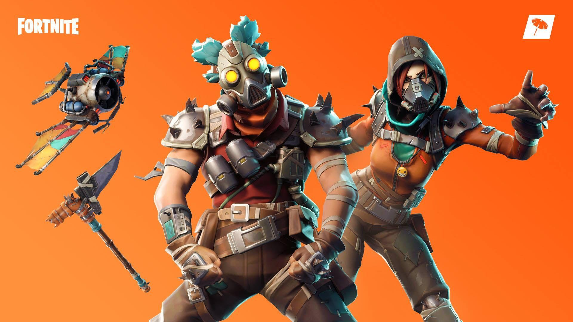 New Ruckus and Mayhem Outfits - Fortnite Wallpaper by Rabcat #4383 ...