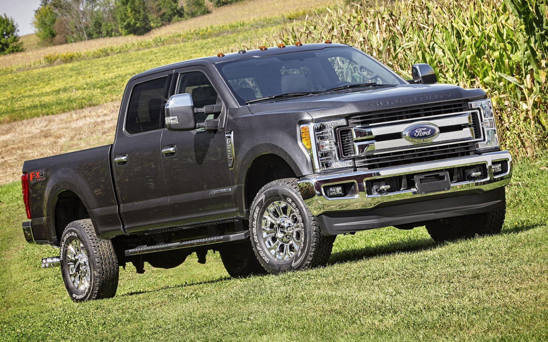 Ford F-250 XLT FX4 Crew Cab (2017) Wallpapers and HD Images - Car Pixel