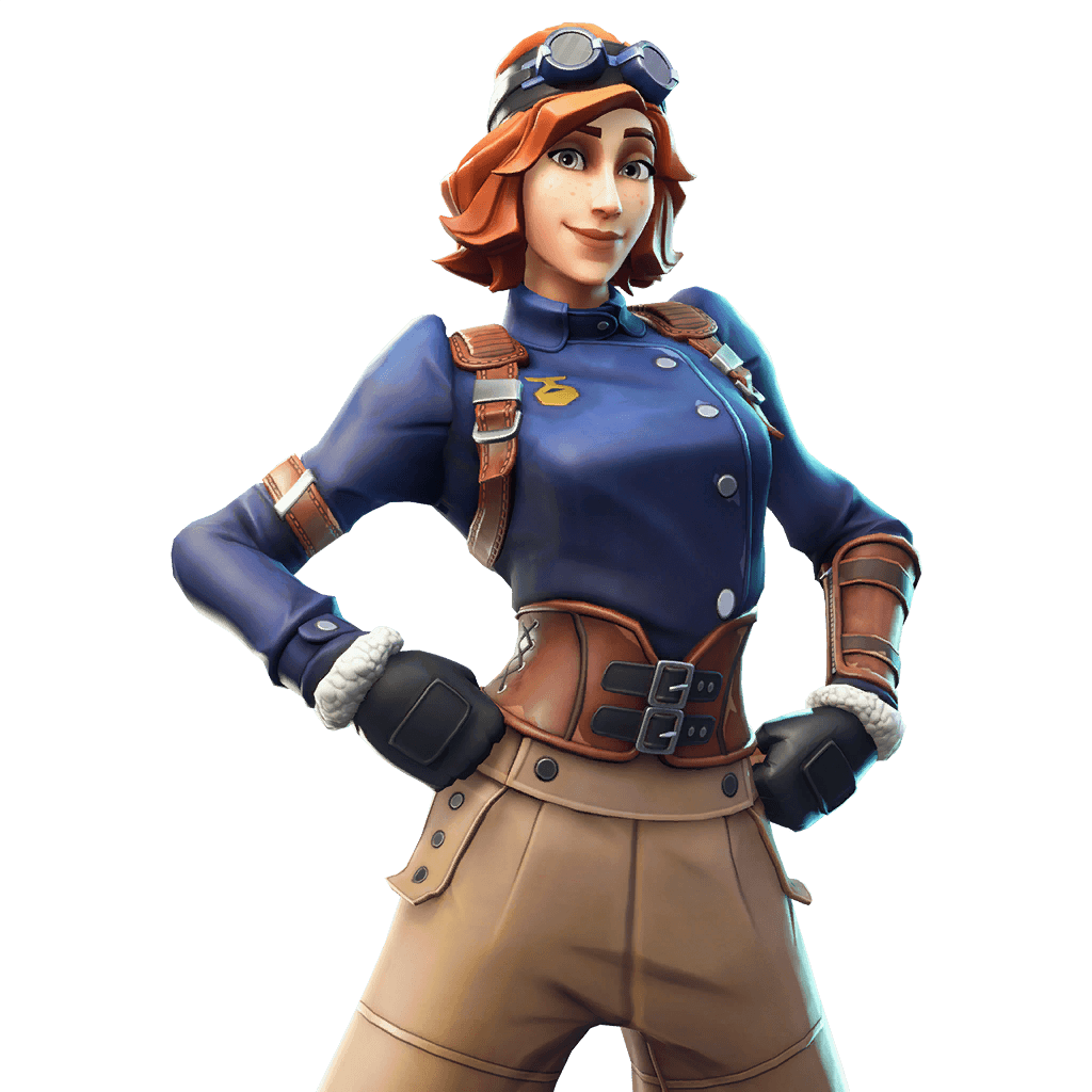 Rare Airheart Outfit Fortnite Cosmetic Cost 1,200 V