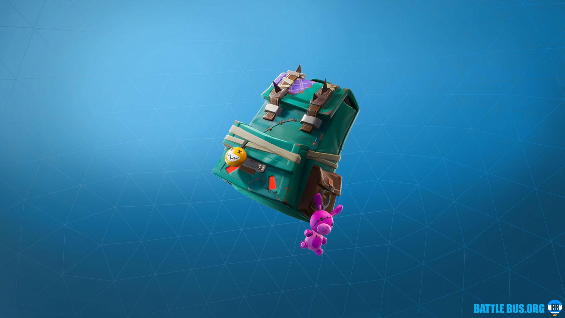 Puncture Pack Back Bling - Wasteland Warriors Set | Full set, info, HD