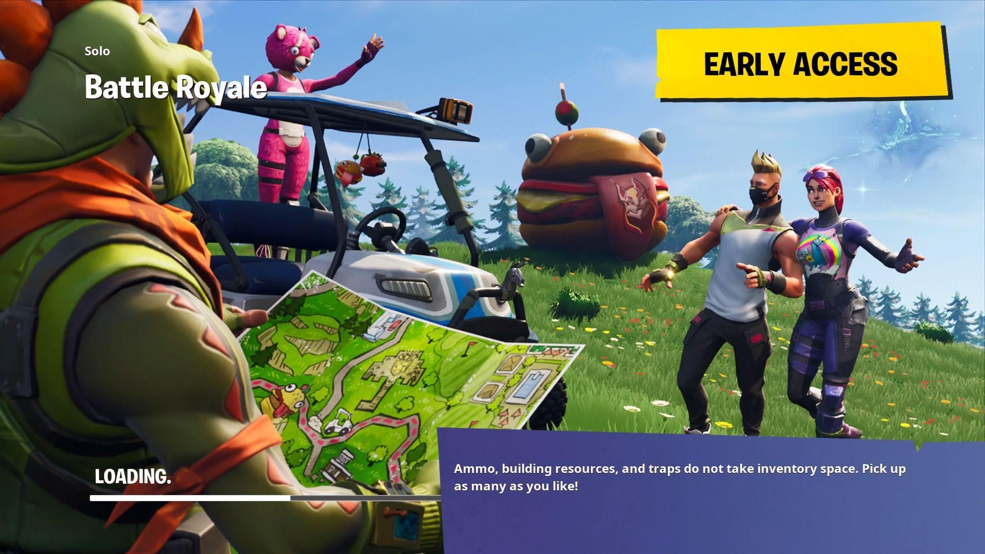Fortnite Battle Royale Loading Screen Wallpaper 65189 1920x1080px