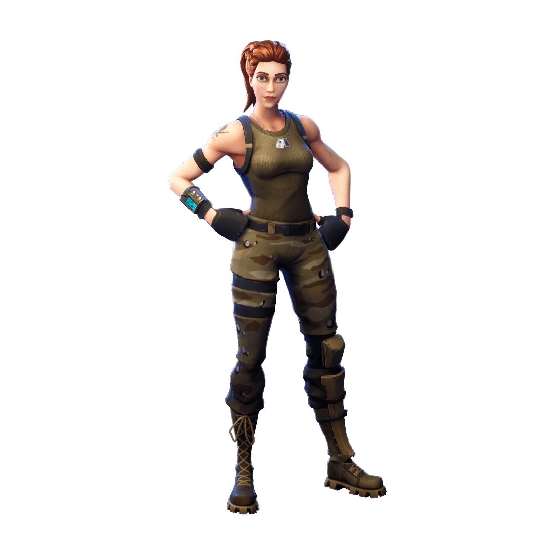 Uncommon Tower Recon Specialist Outfit Fortnite Cosmetic Cost 800 V