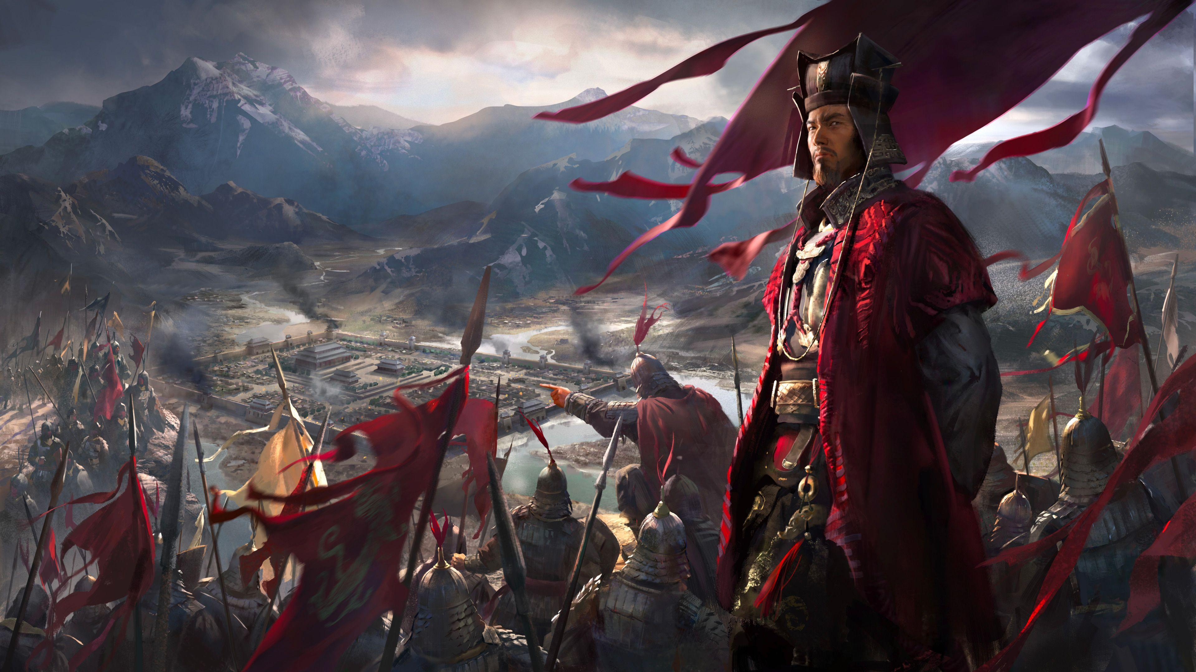 Total War Three Kingdoms Wallpapers Wallpaper Cave