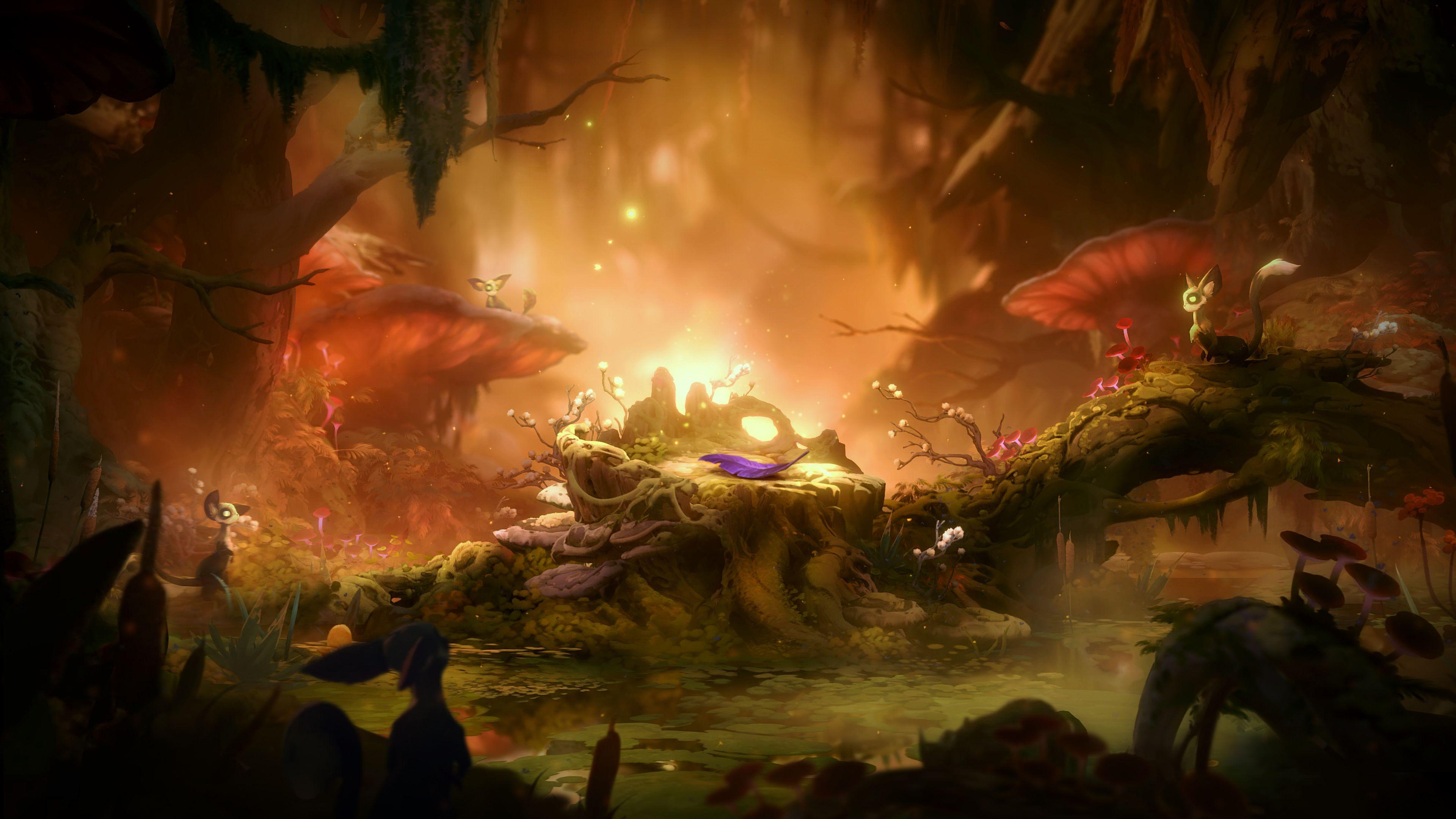 Wallpapers Ori and the Will of the Wisps, 4K, Games,