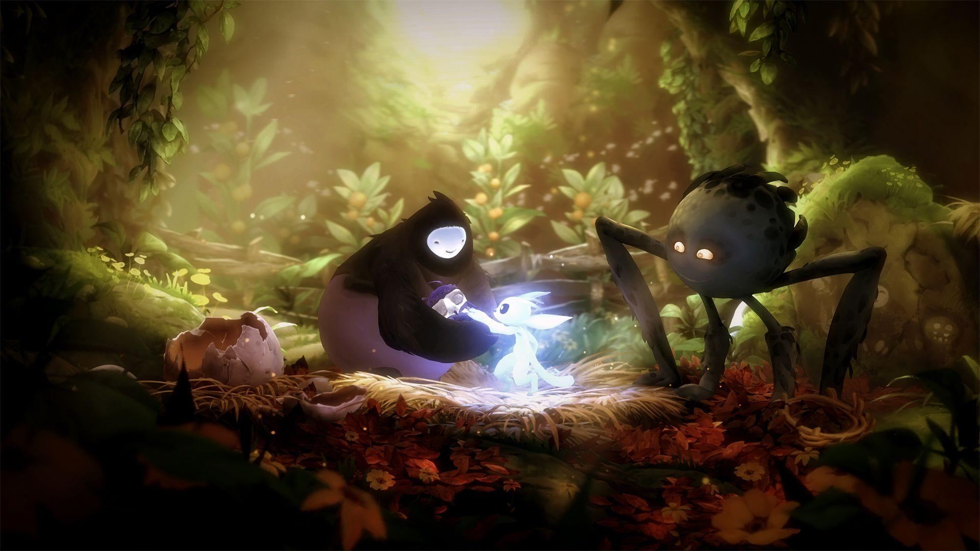 Ori's memories. Wallpapers from Ori and the Will of the Wisps