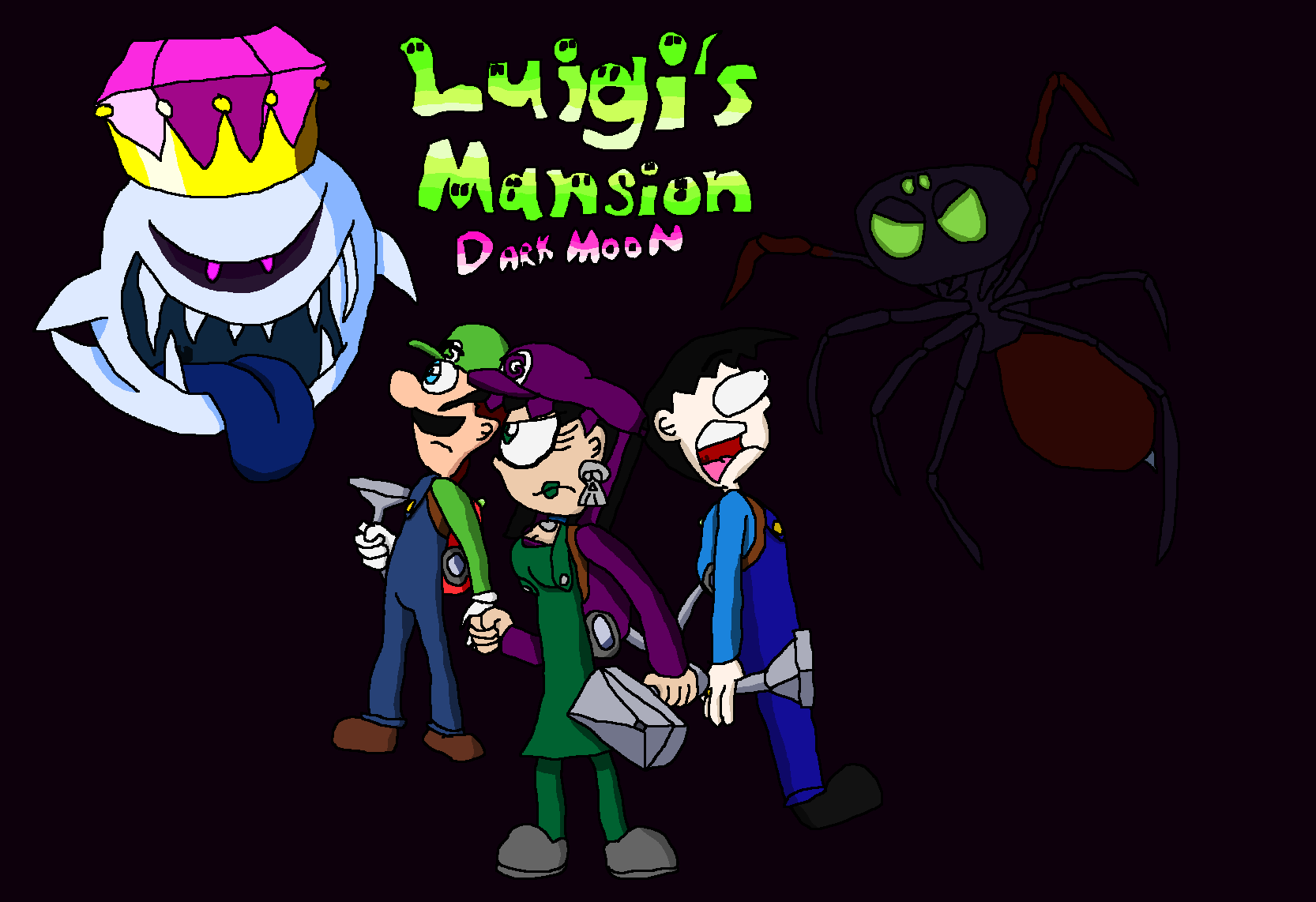 Luigi S Mansion 3 Wallpapers Wallpaper Cave