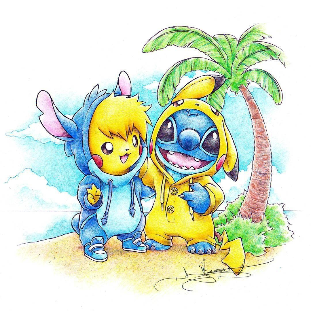 toothless stitch and pikachu wallpapers wallpaper cave. Black Bedroom Furniture Sets. Home Design Ideas