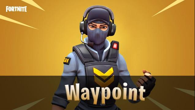 Waypoint Fortnite wallpapers
