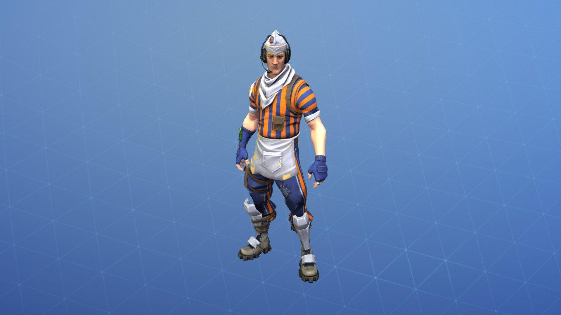 grill sergeant outfit 3d model by fortnite skins fortniteskins - grill sergeant fortnite release date
