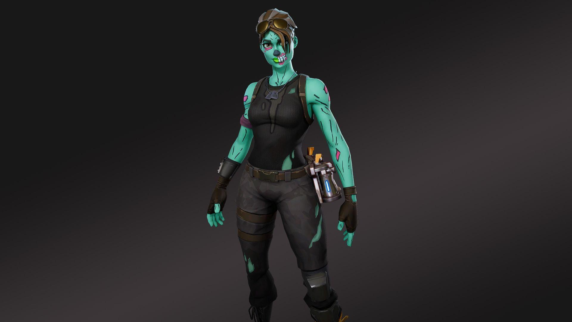 1920x1080 HD Wallpapers of Ghoul Trooper Fortnite Battle Royale Video