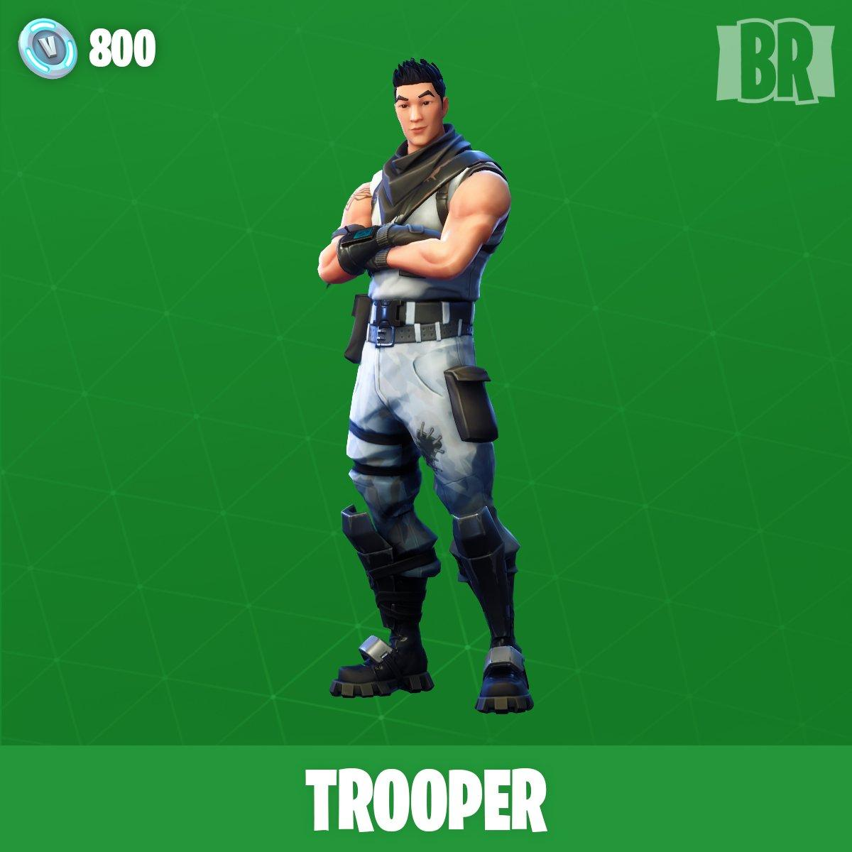 Trooper Fortnite wallpapers