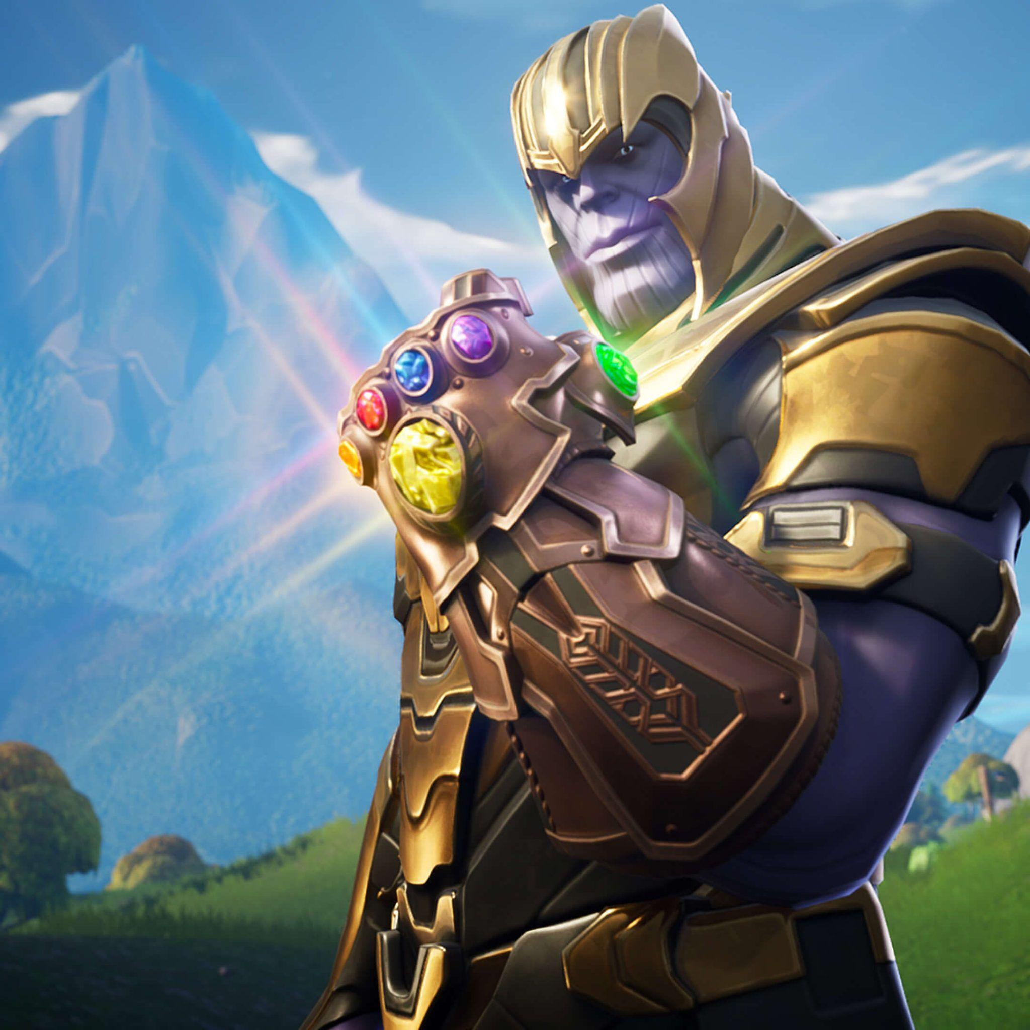 Thanos In Fortnite Battle Royale wallpapers