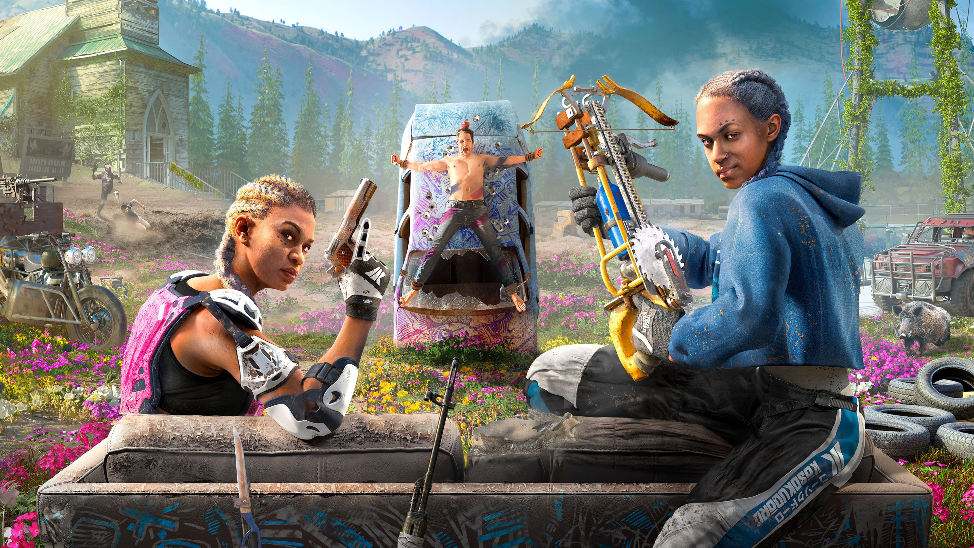 Far Cry New Dawn Wallpapers Wallpaper Cave