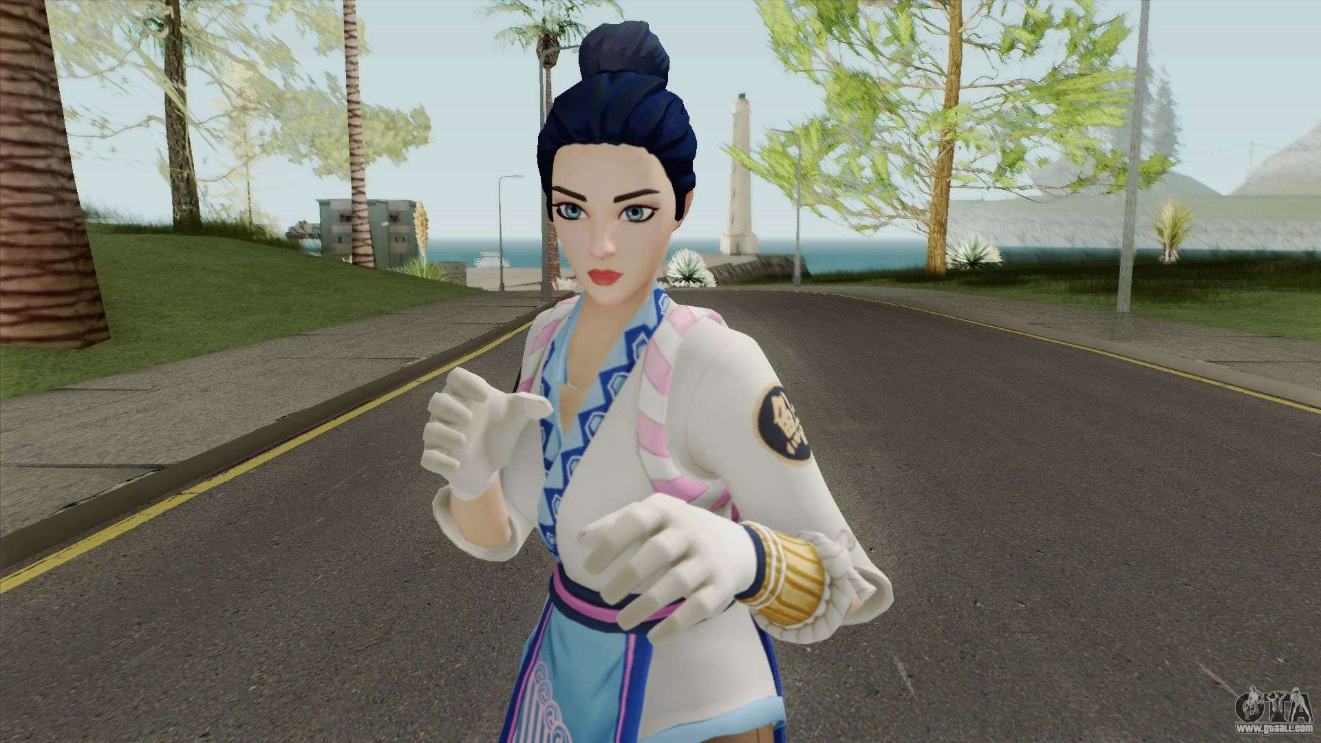 Maki Master From Fortnite for GTA San Andreas