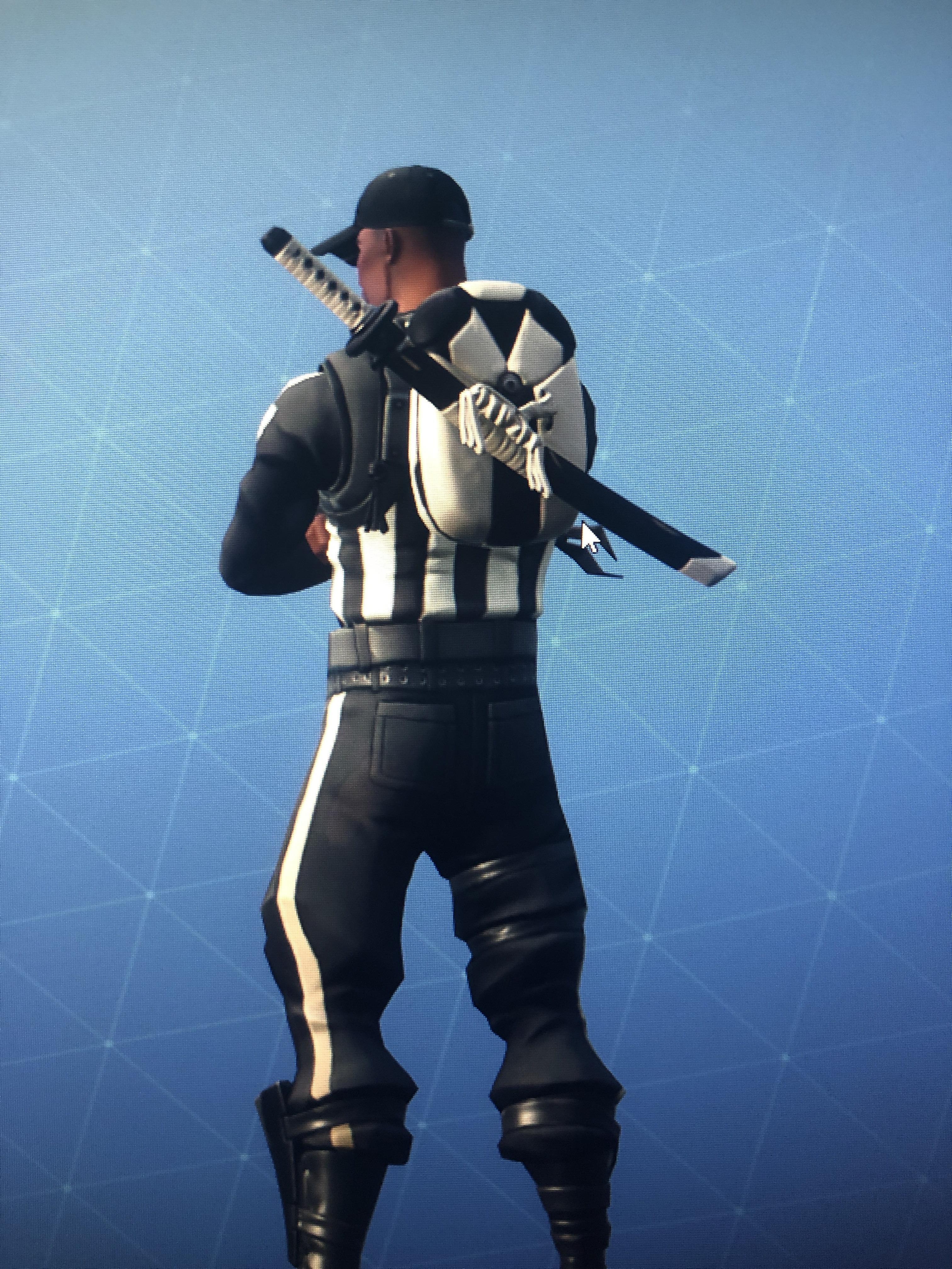 Striped Soldier Fortnite wallpapers