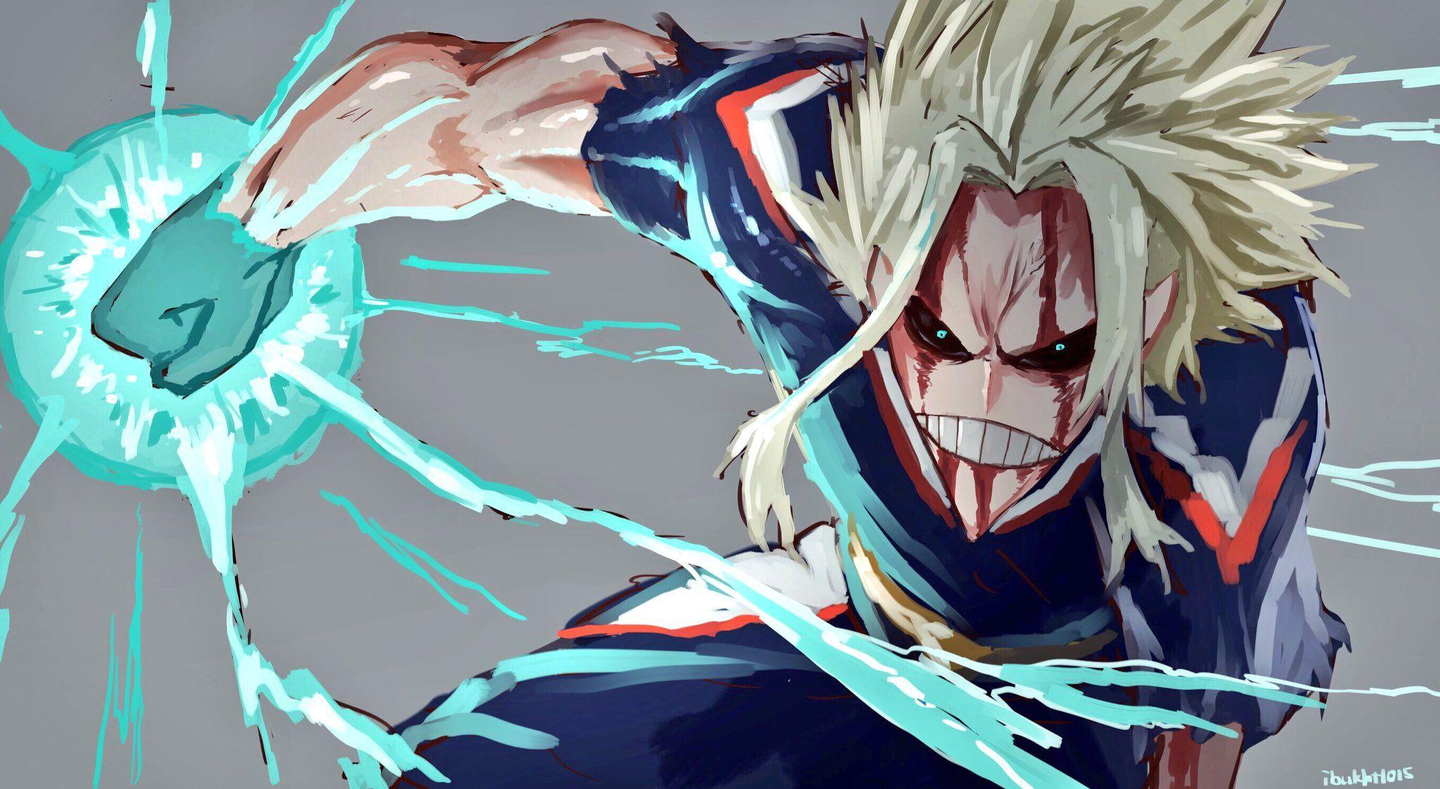 Anime, My Hero Academia, Blood, All Might Wallpapers