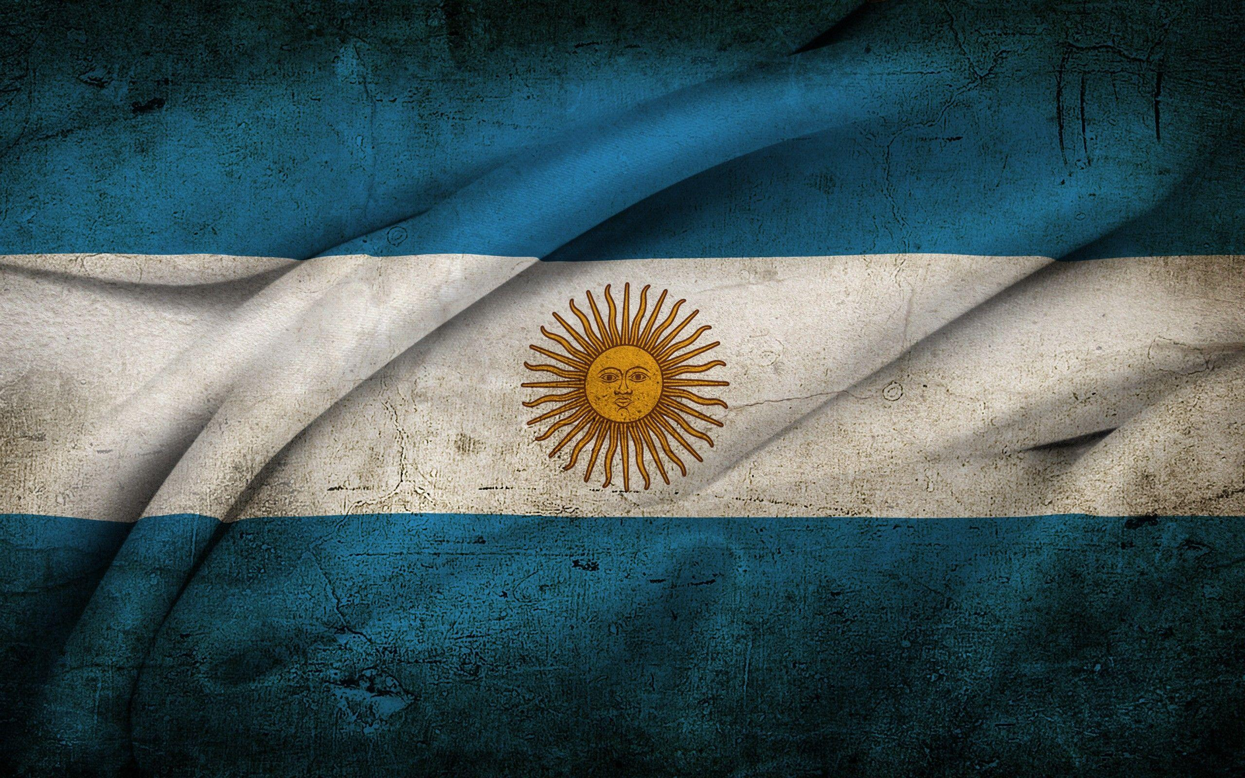 Flag Of Argentina HD Wallpaper | Background Image | 2560x1600 | ID ...