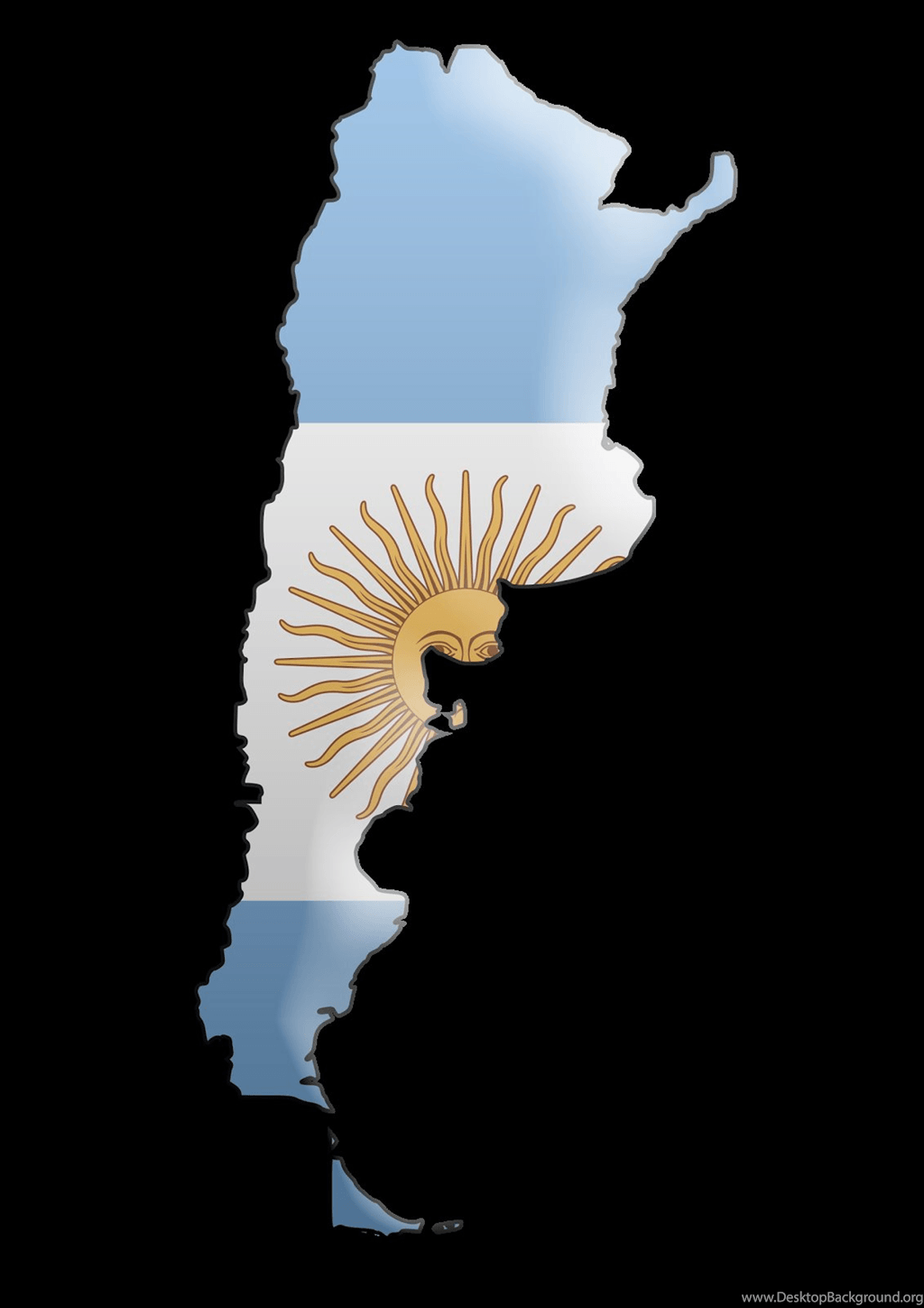 My Life Like: Wallpapers Flag Of Argentina Desktop Background