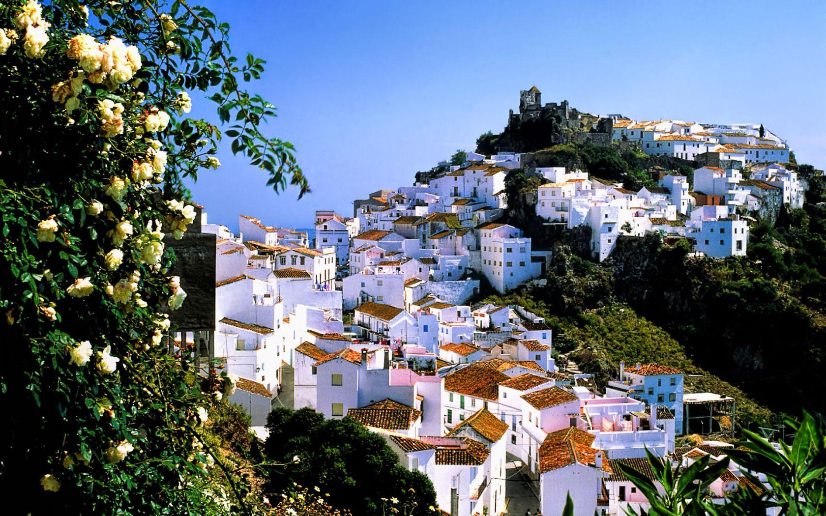 White Village of Casares, Malaga Province, Andalucia, Southern Spain