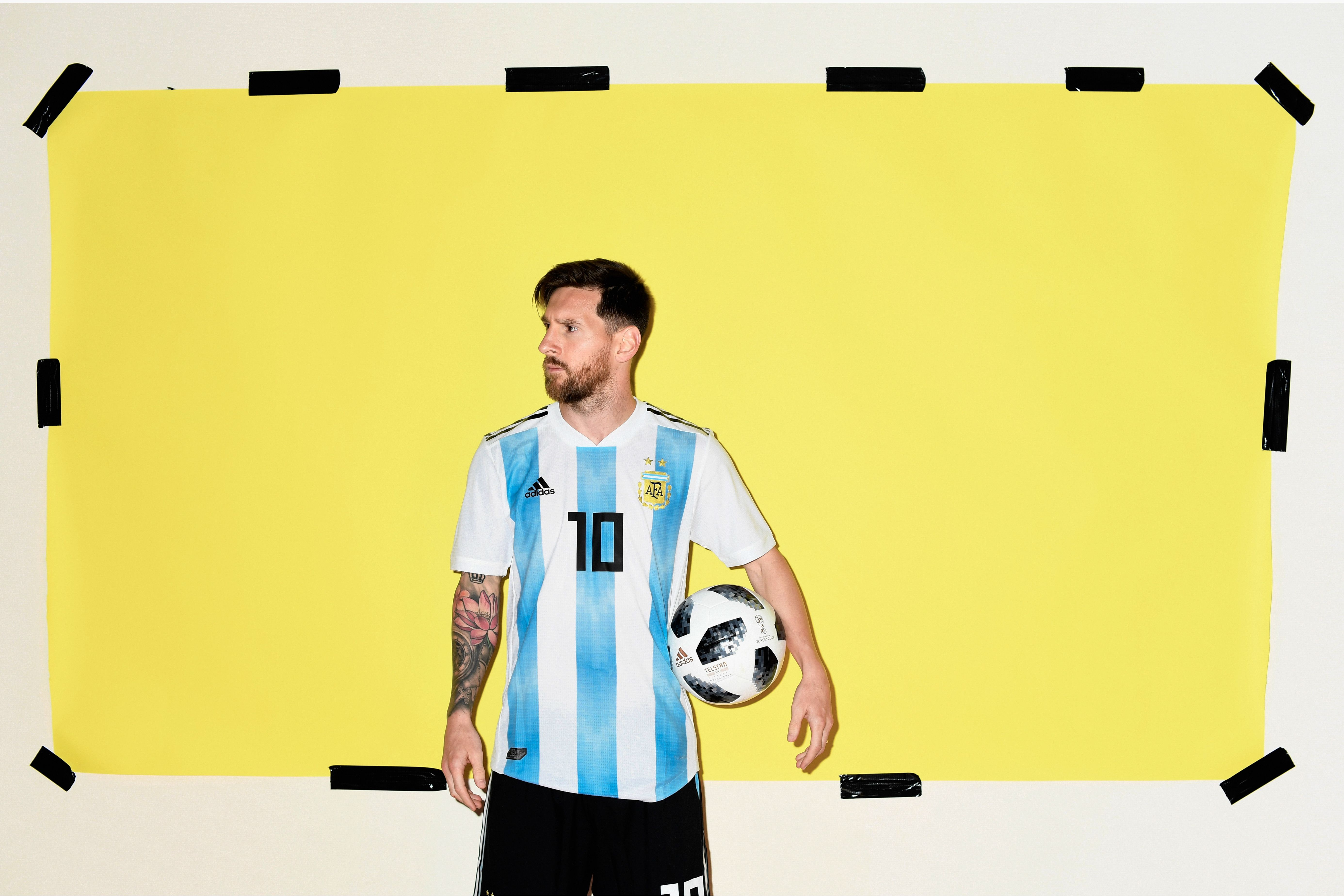 Lionel Messi Argentina Portrait 2018, HD Sports, 4k Wallpapers ...