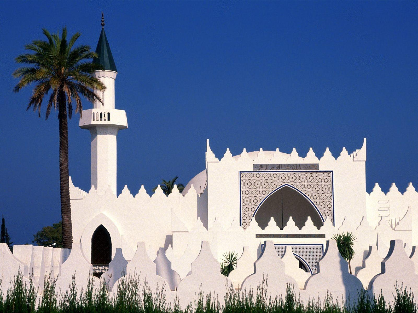 Spain King Aziz Mosques Nature