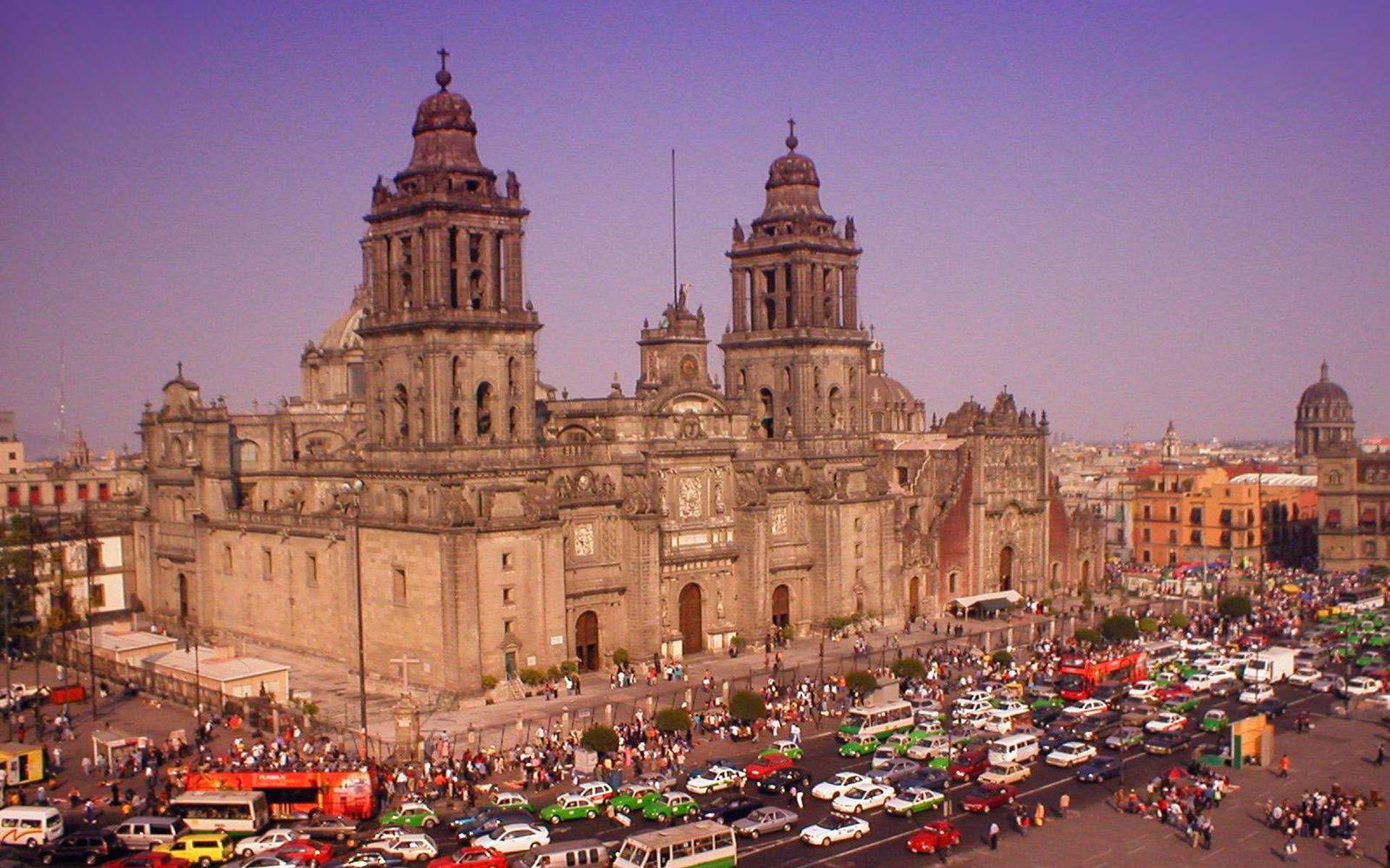 Mexico city cathedral wallpapers