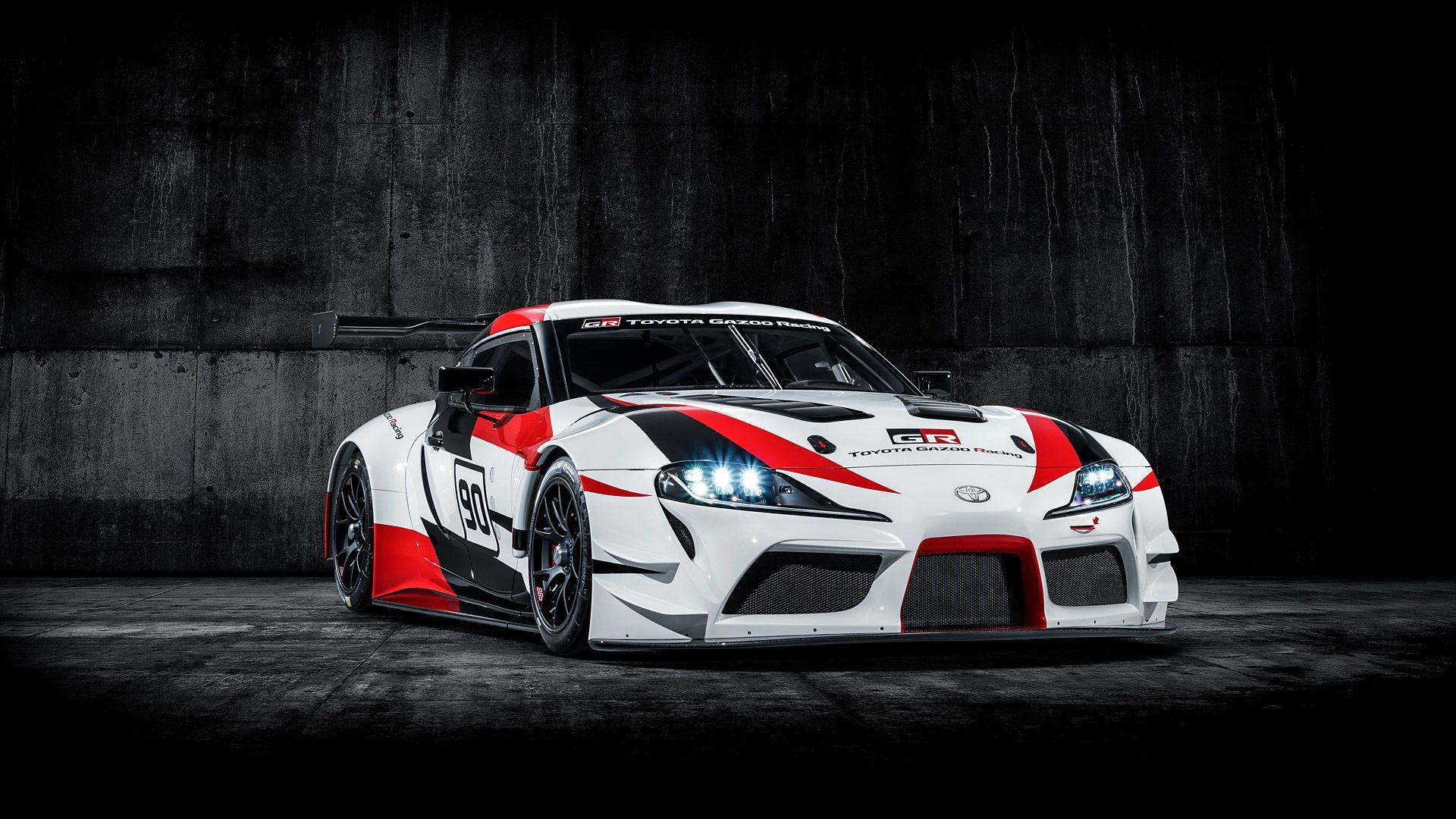 2018 Toyota GR Supra Racing Concept Wallpapers & HD Image