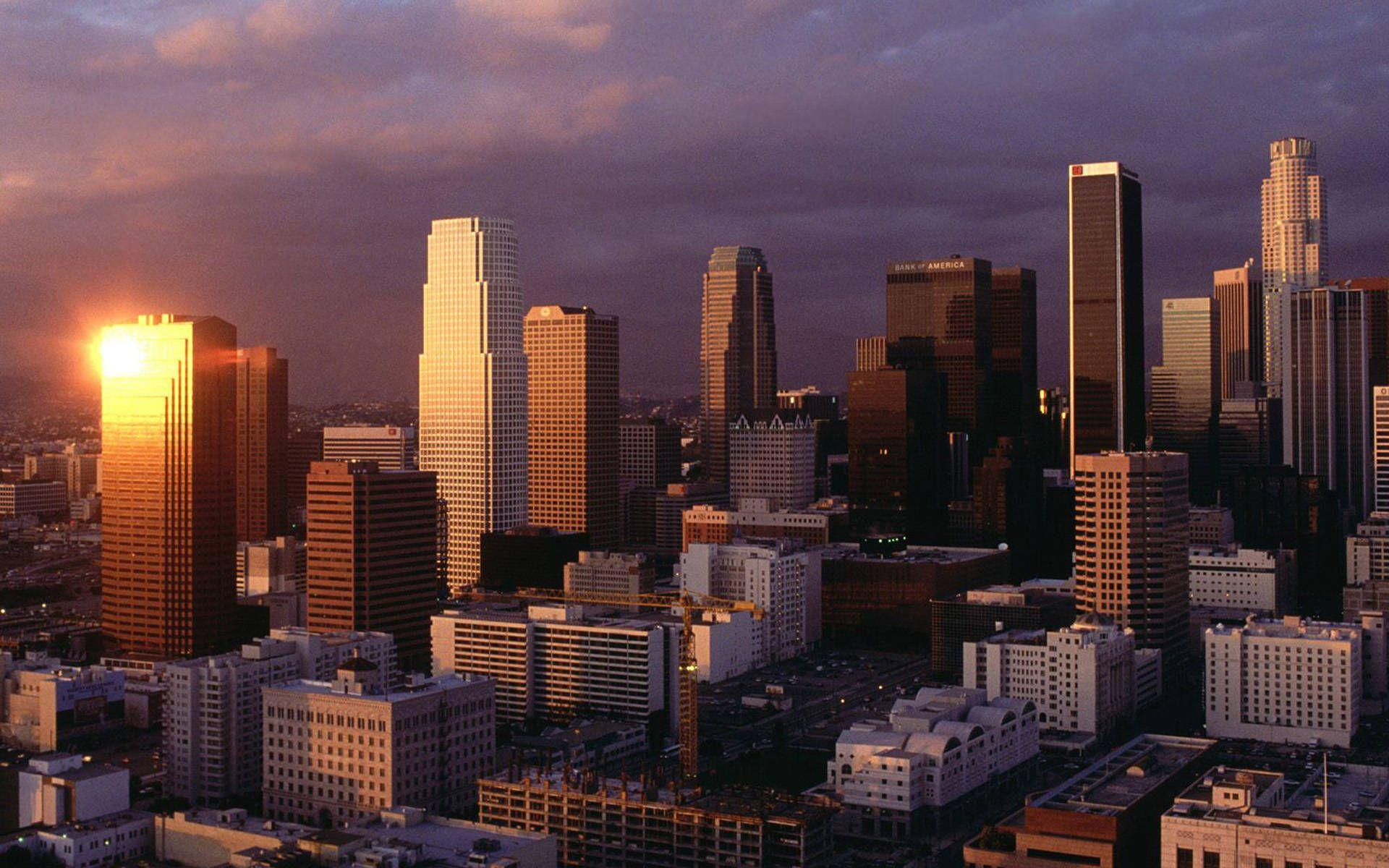 Los Angeles California city wallpapers