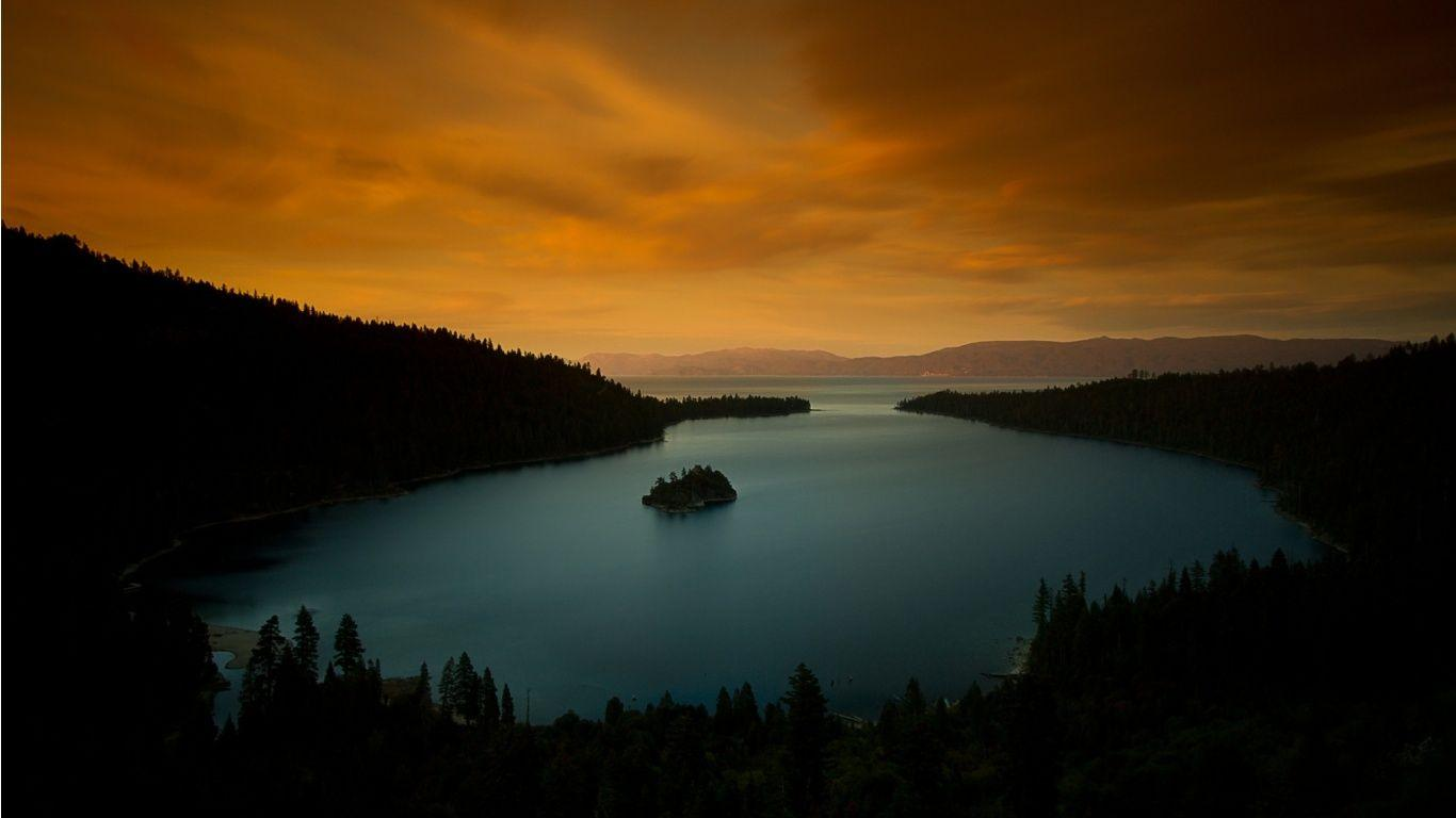 Evening Lake Tahoe California Wallpapers