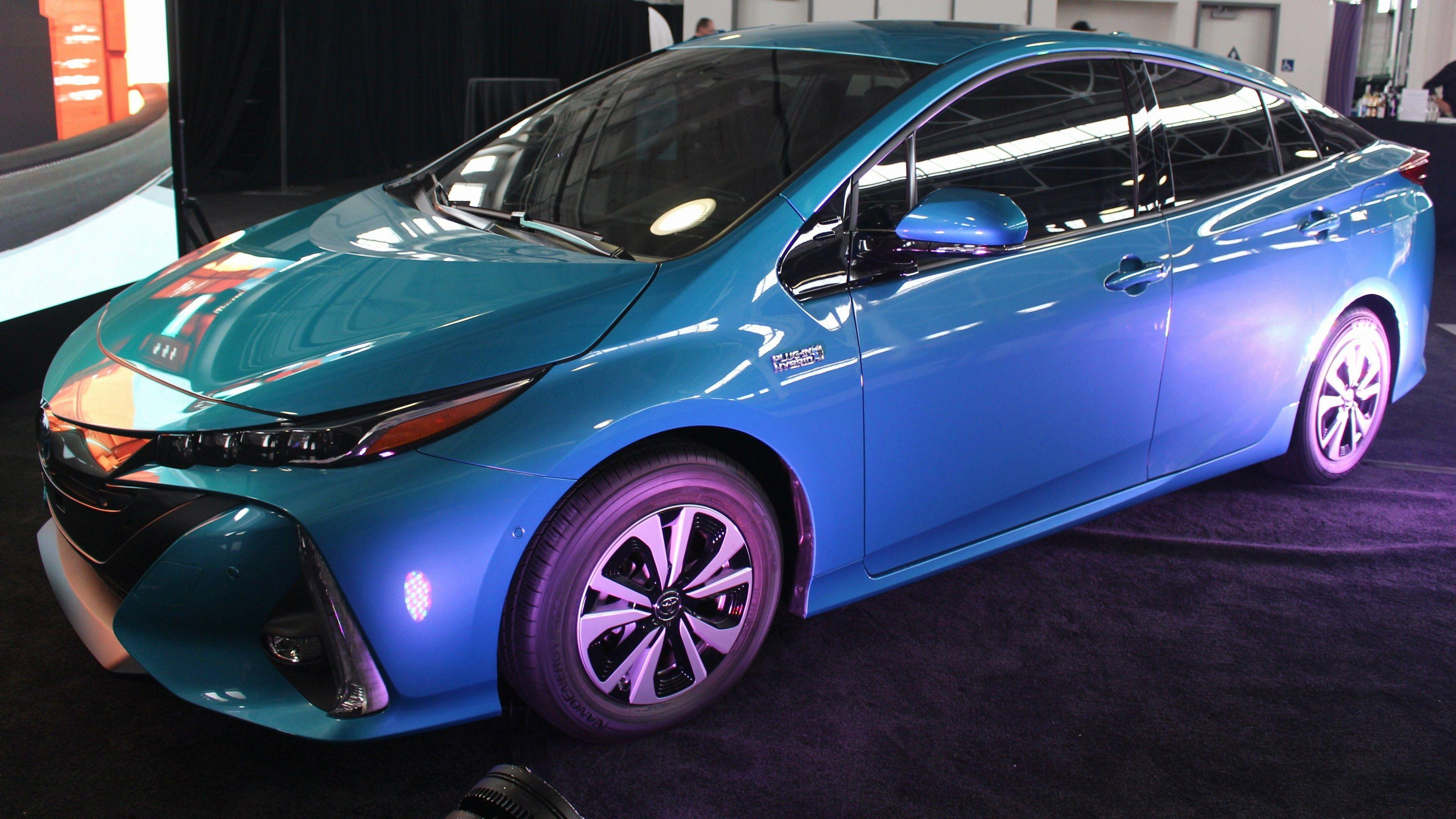 Latest Toyota Prius Prime Car 4K Wallpapers