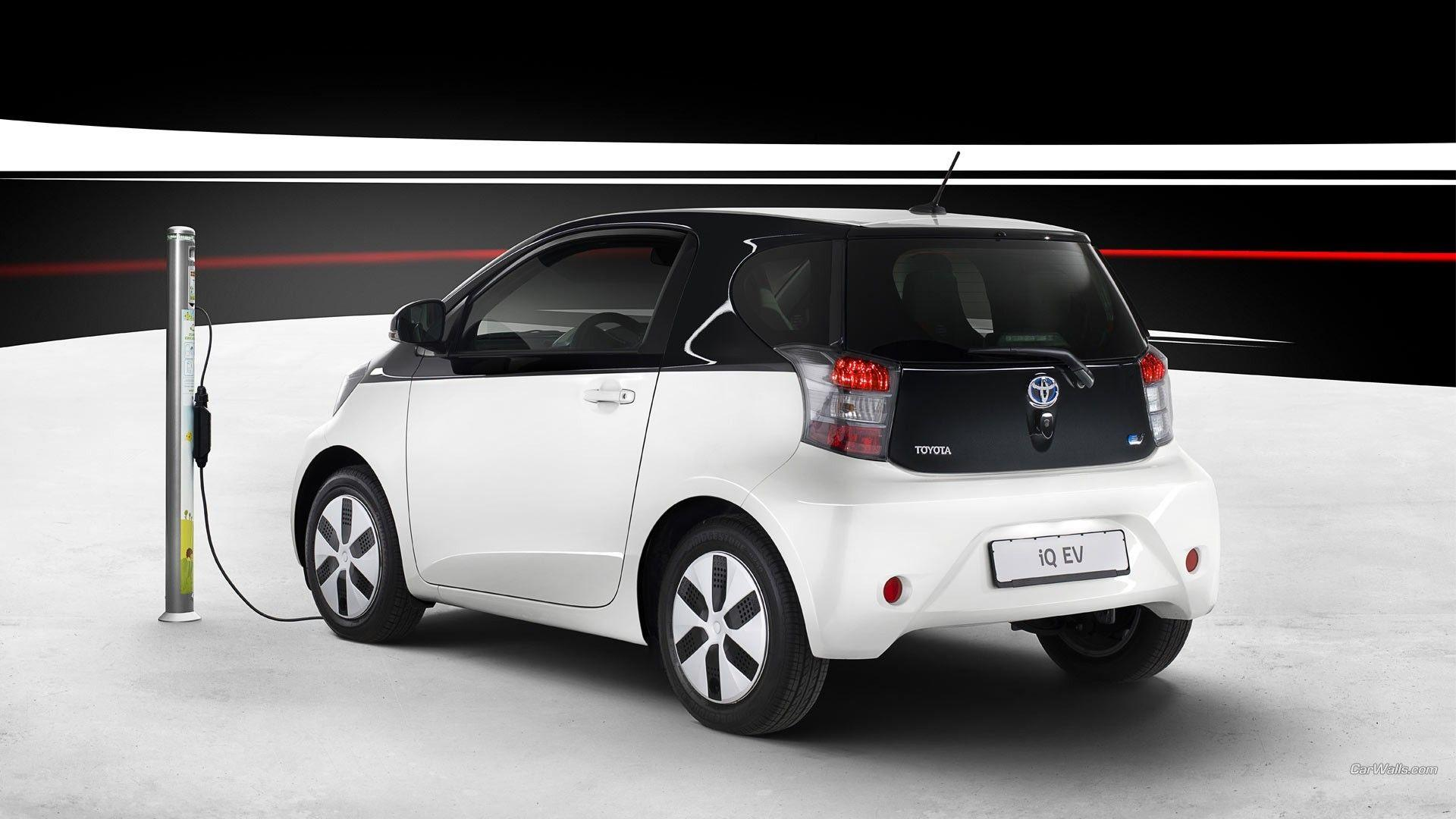 toyota iq car electric cars wallpapers and backgrounds