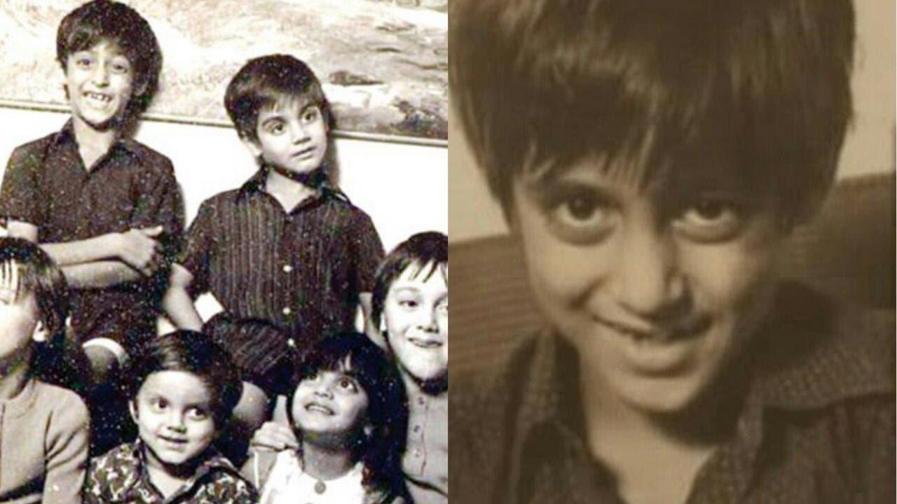 Childhood Photos of Salman Khan