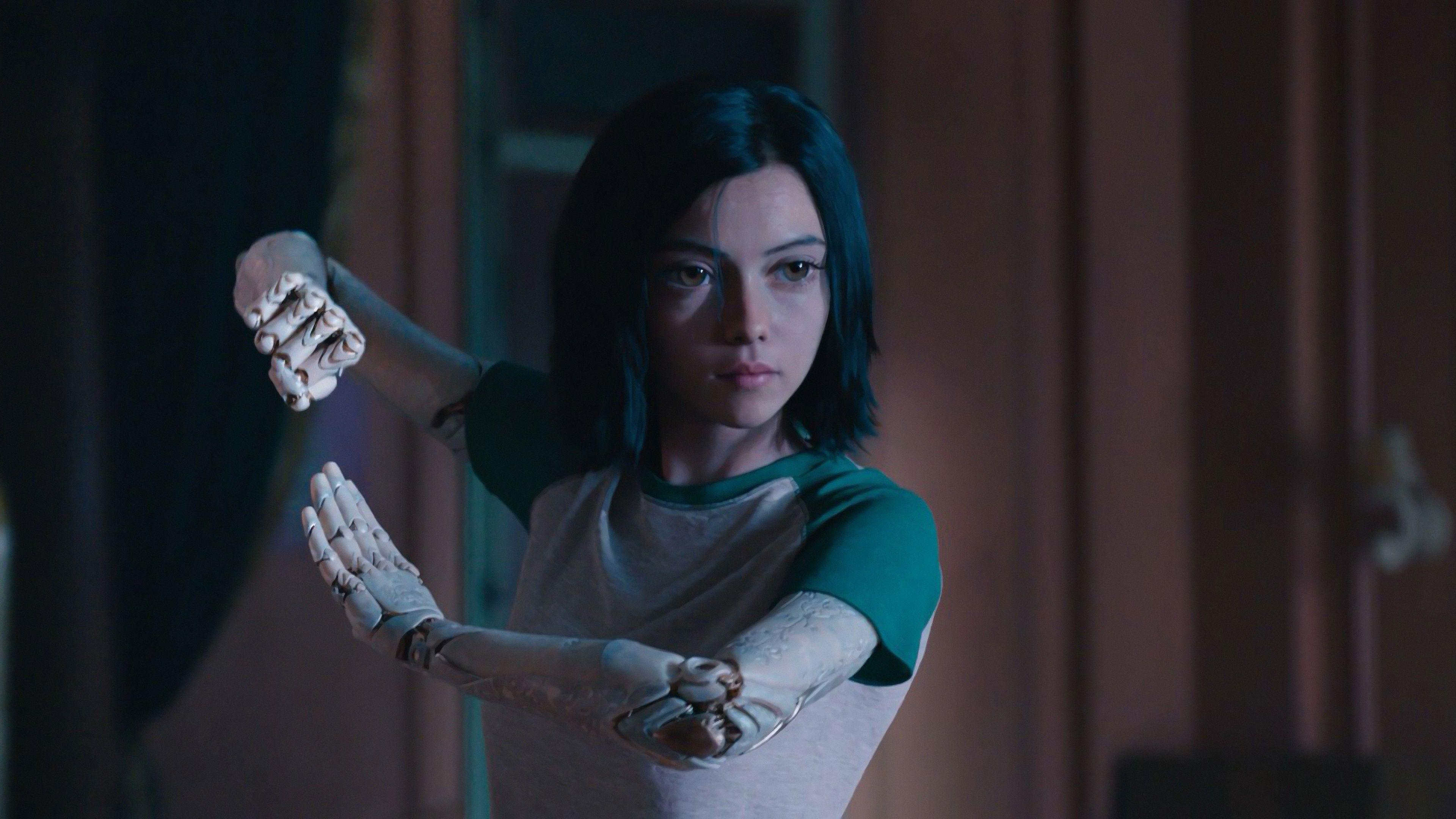 Rosa Salazar In Alita Battle Angel rosa salazar wallpapers, movies