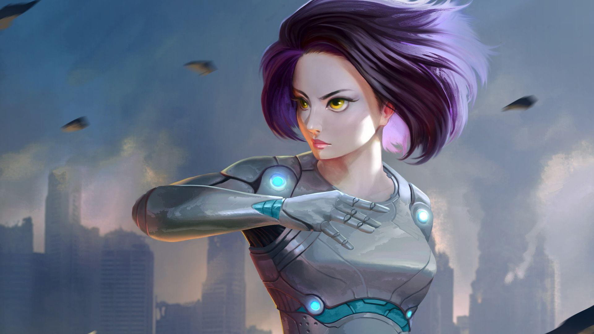 Alita Battle Angel 2018 Art, HD Movies, 4k Wallpapers, Image